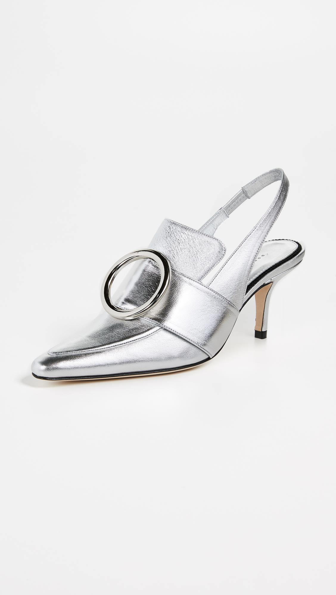 best sale sale online clearance from china Dorateymur Eagle patent leather slingback pumps outlet sneakernews sale tumblr low shipping for sale gsyr9bu