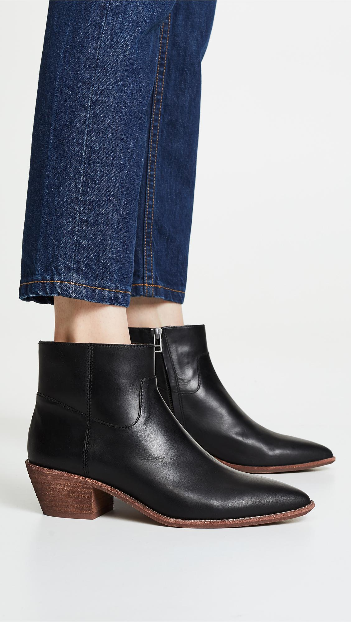 47700908085 Madewell The Charley Boot in Black - Lyst