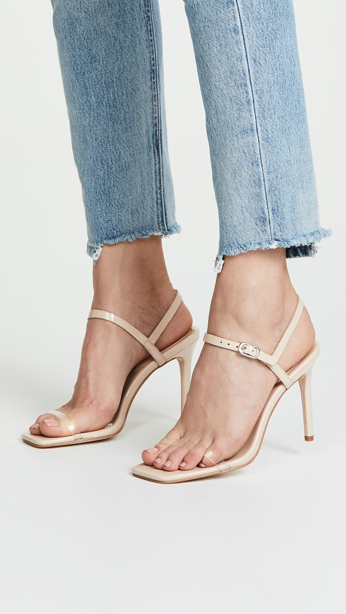 1062a7df45f7 Jeffrey Campbell - Natural Get Busy Strappy Sandals - Lyst. View fullscreen