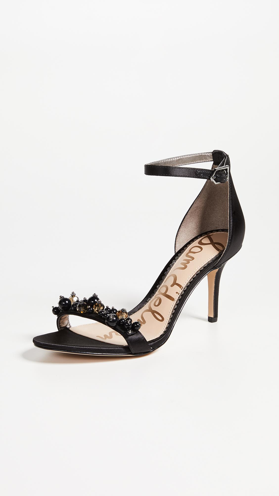 6e116154504025 Lyst - Sam Edelman Platt Sandals in Black