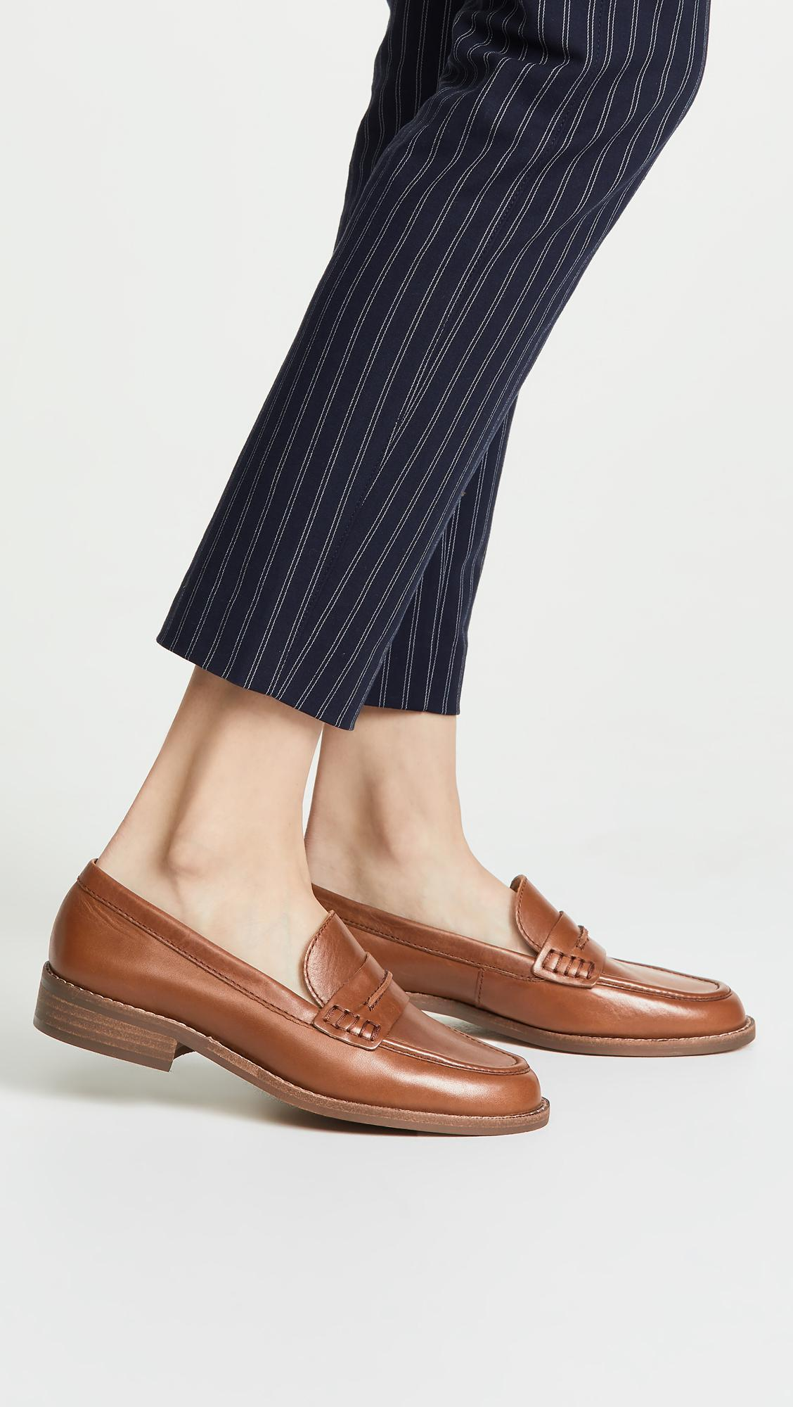 a31aa1b9c09 Madewell - Brown The Elinor Loafers - Lyst. View fullscreen