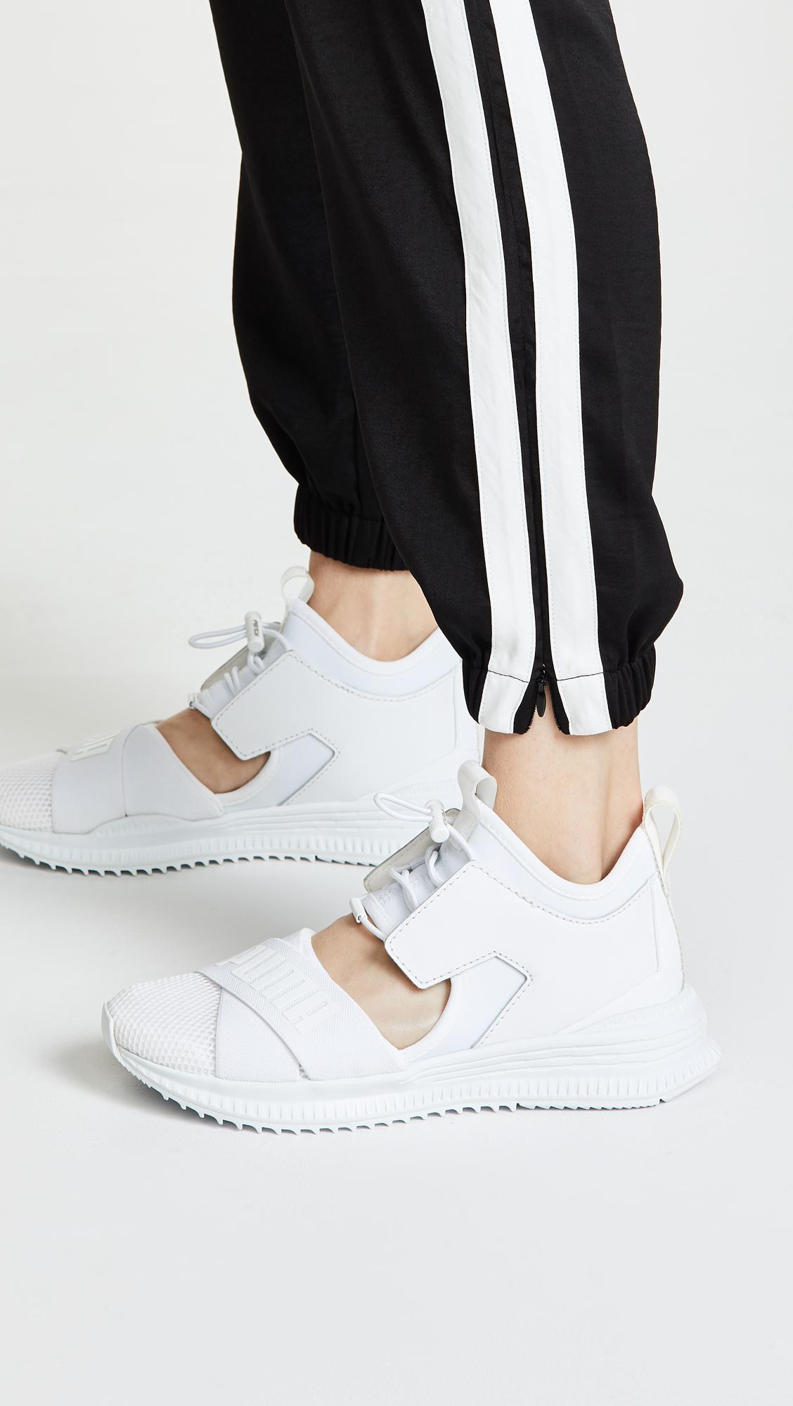 detailed look 5592d db8a4 PUMA X Fenty Avid Sneakers in White - Lyst
