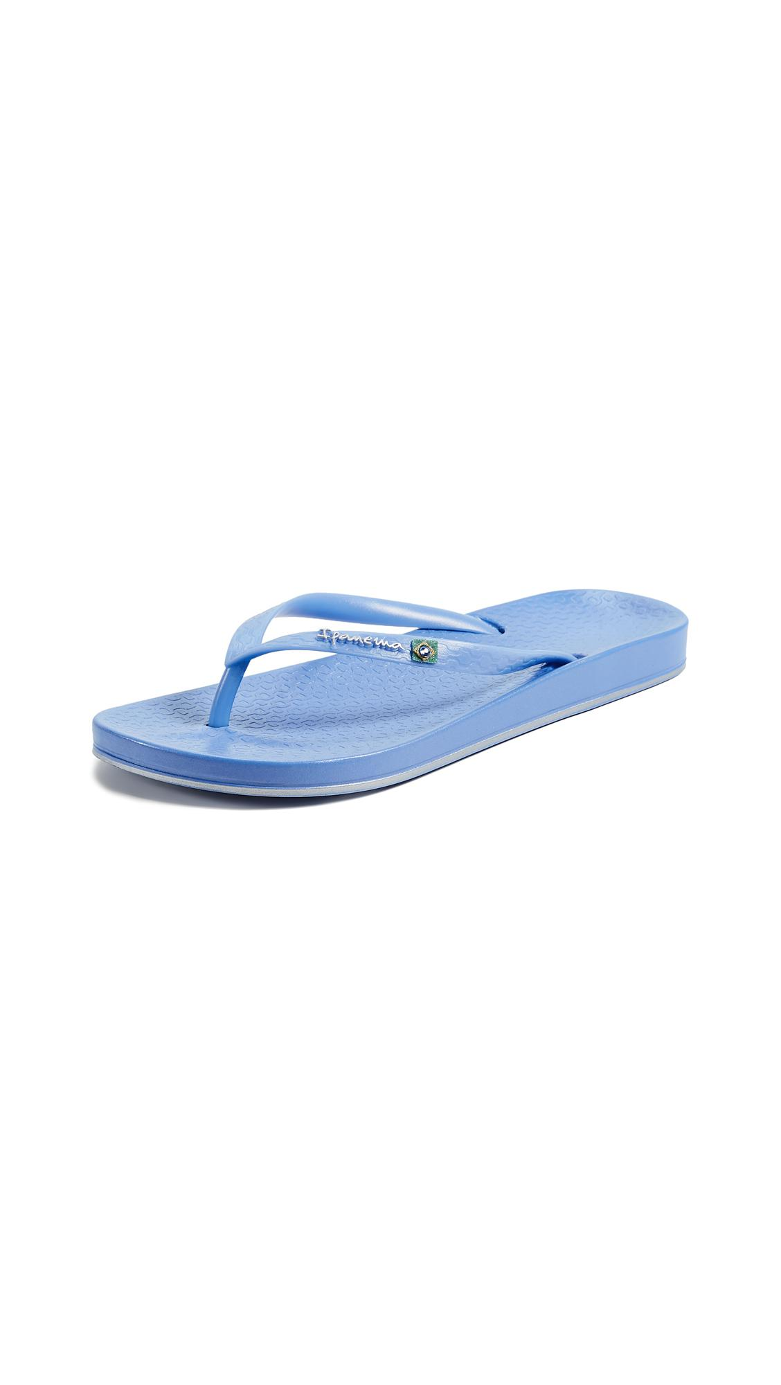 996eab11ba44 Ipanema Brilliant Brazilian Flip Flops in Blue - Lyst
