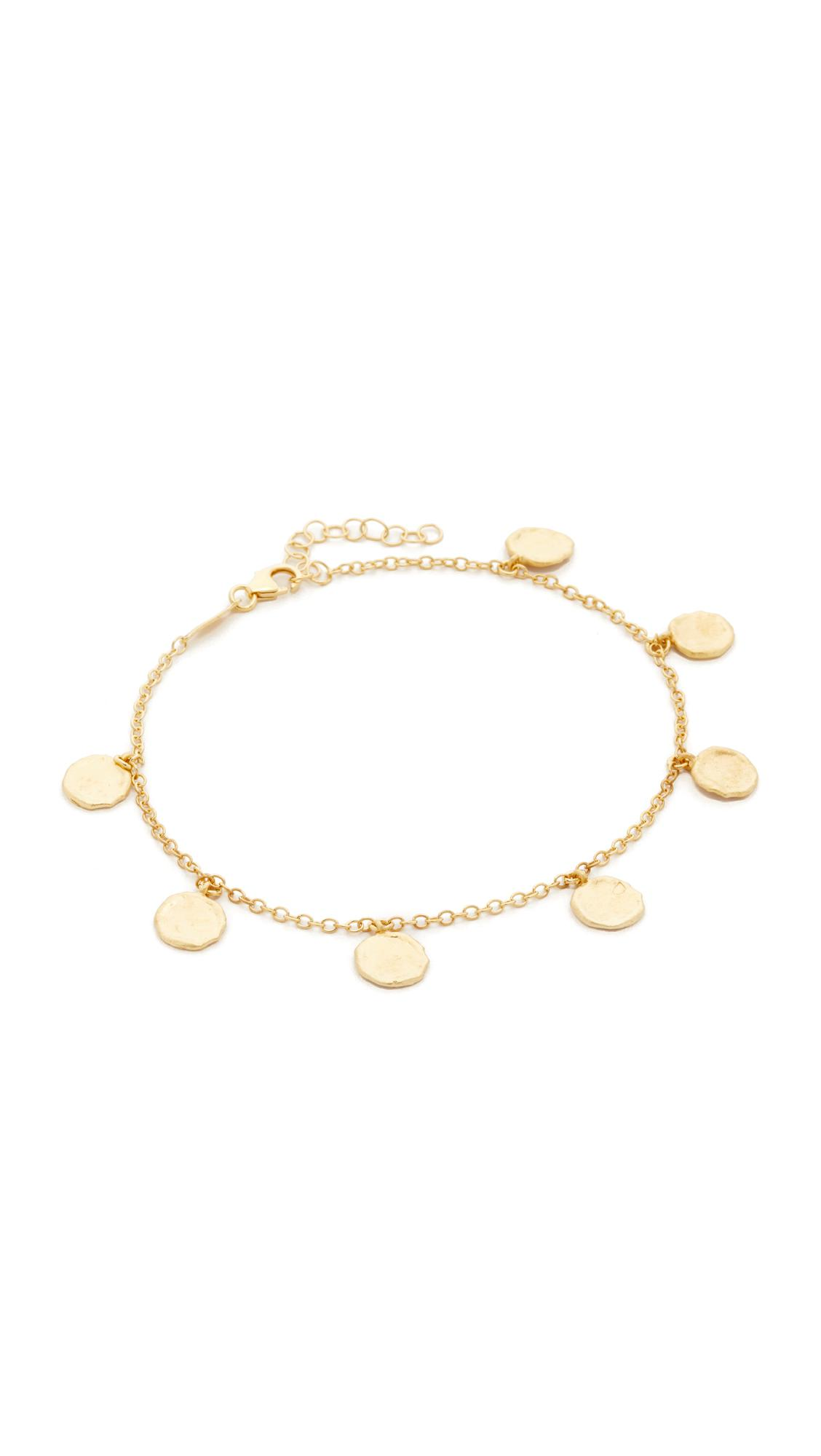 jacquie diamond shaker rg aiche products anklet