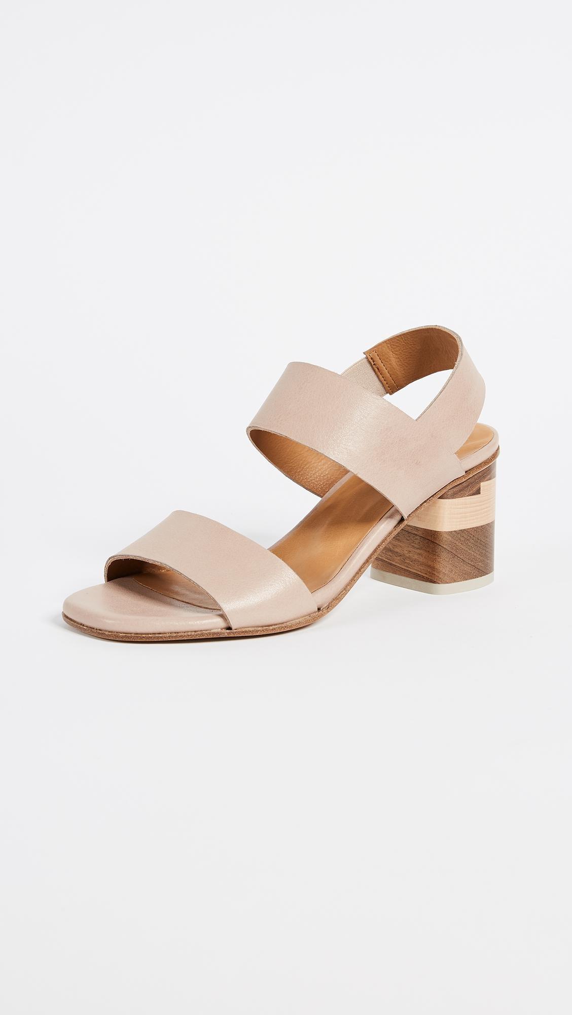 8bfe8f1cf Coclico Bask Block Heel Sandals - Lyst
