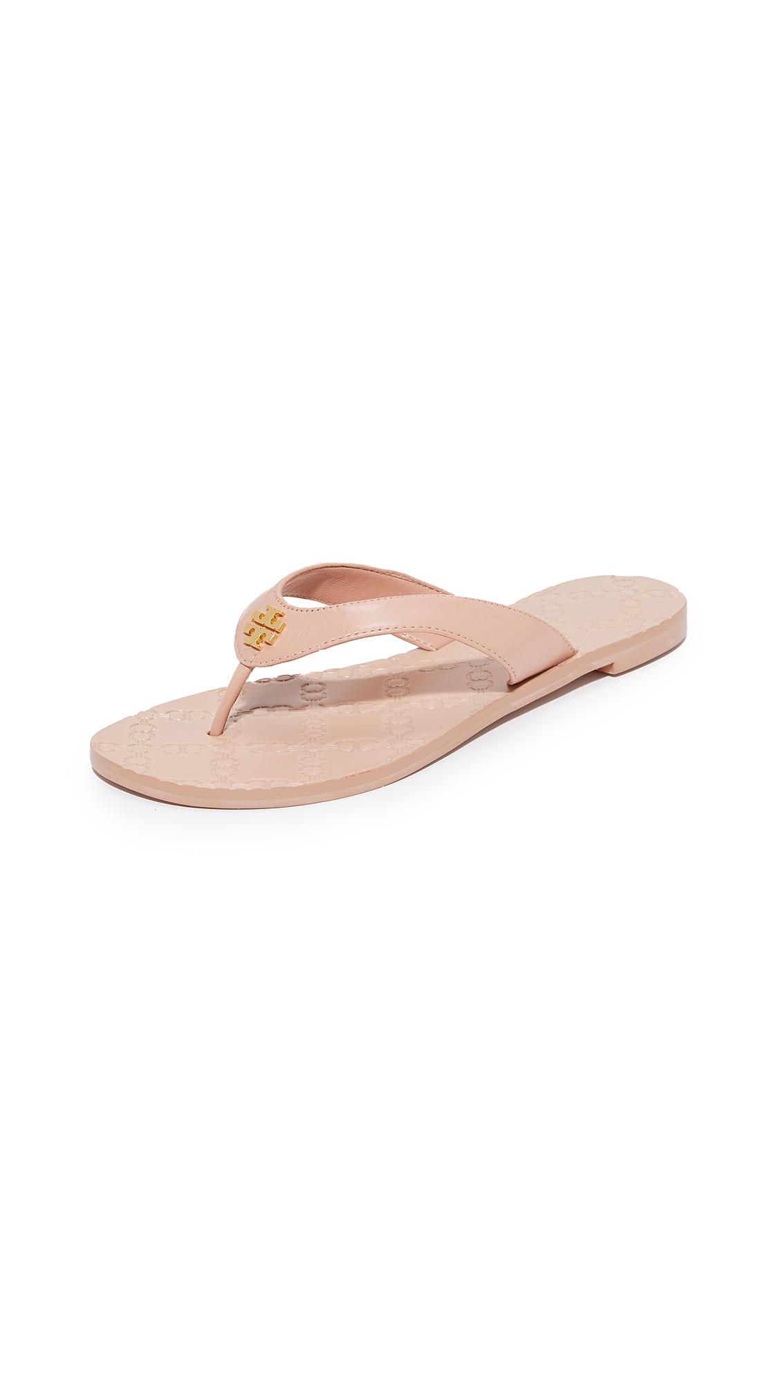 640e9ad176b Lyst - Tory Burch Monroe Thong Sandals in Pink