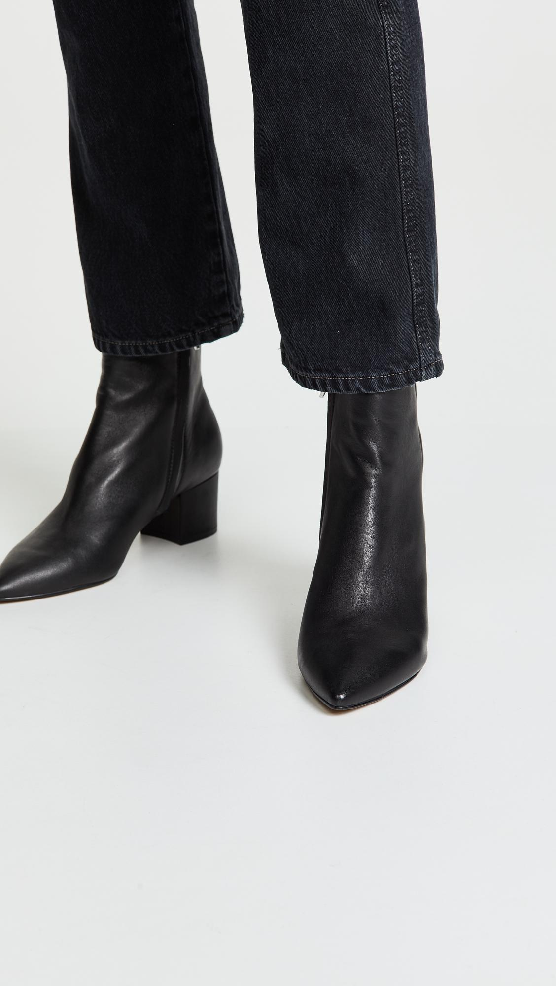 e98f1e5a019 Lyst - Dolce Vita Bel Point Toe Booties in Black