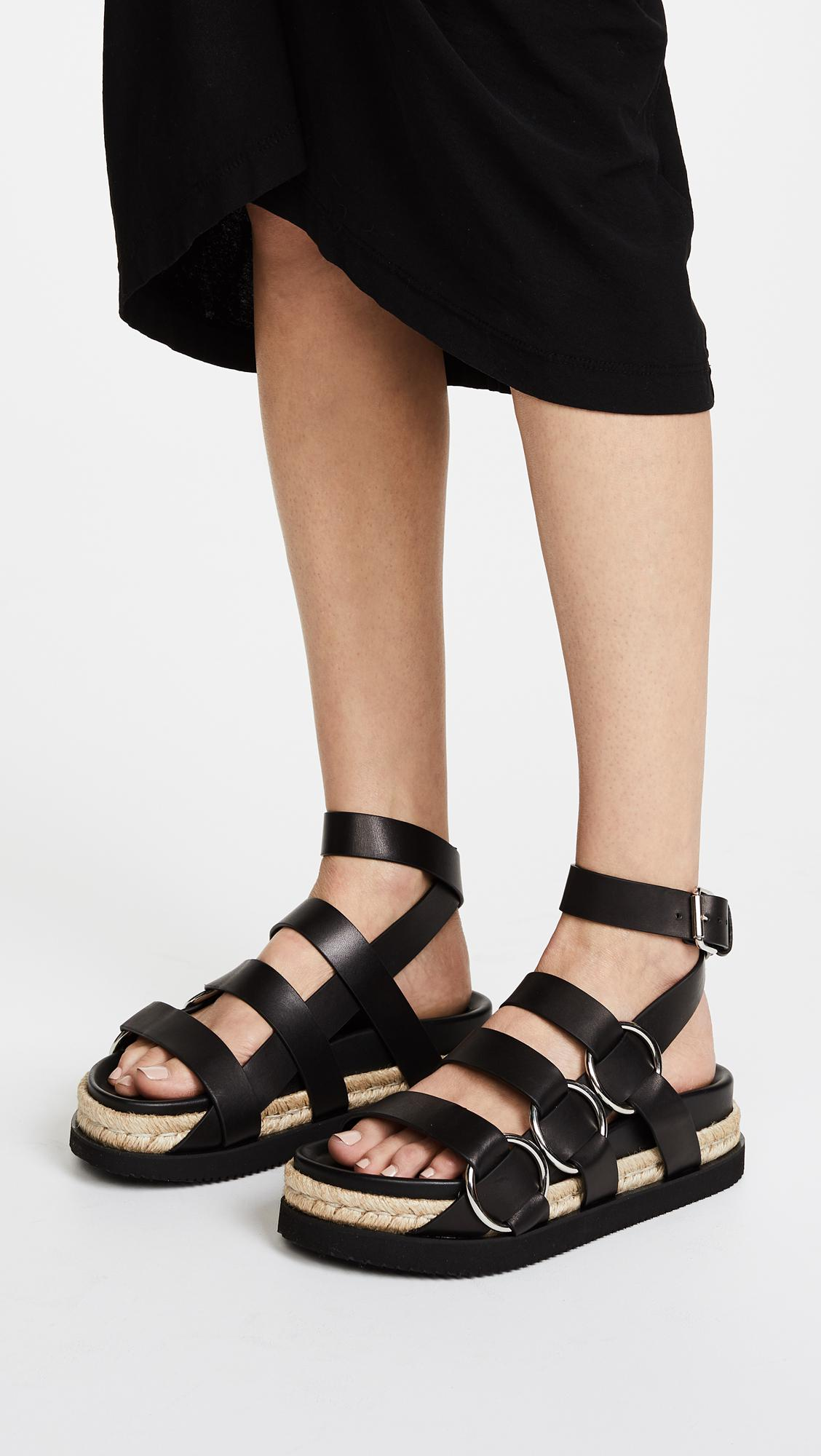 Alexander Wang Bess Flatform Sandals TGxhgBRFyF