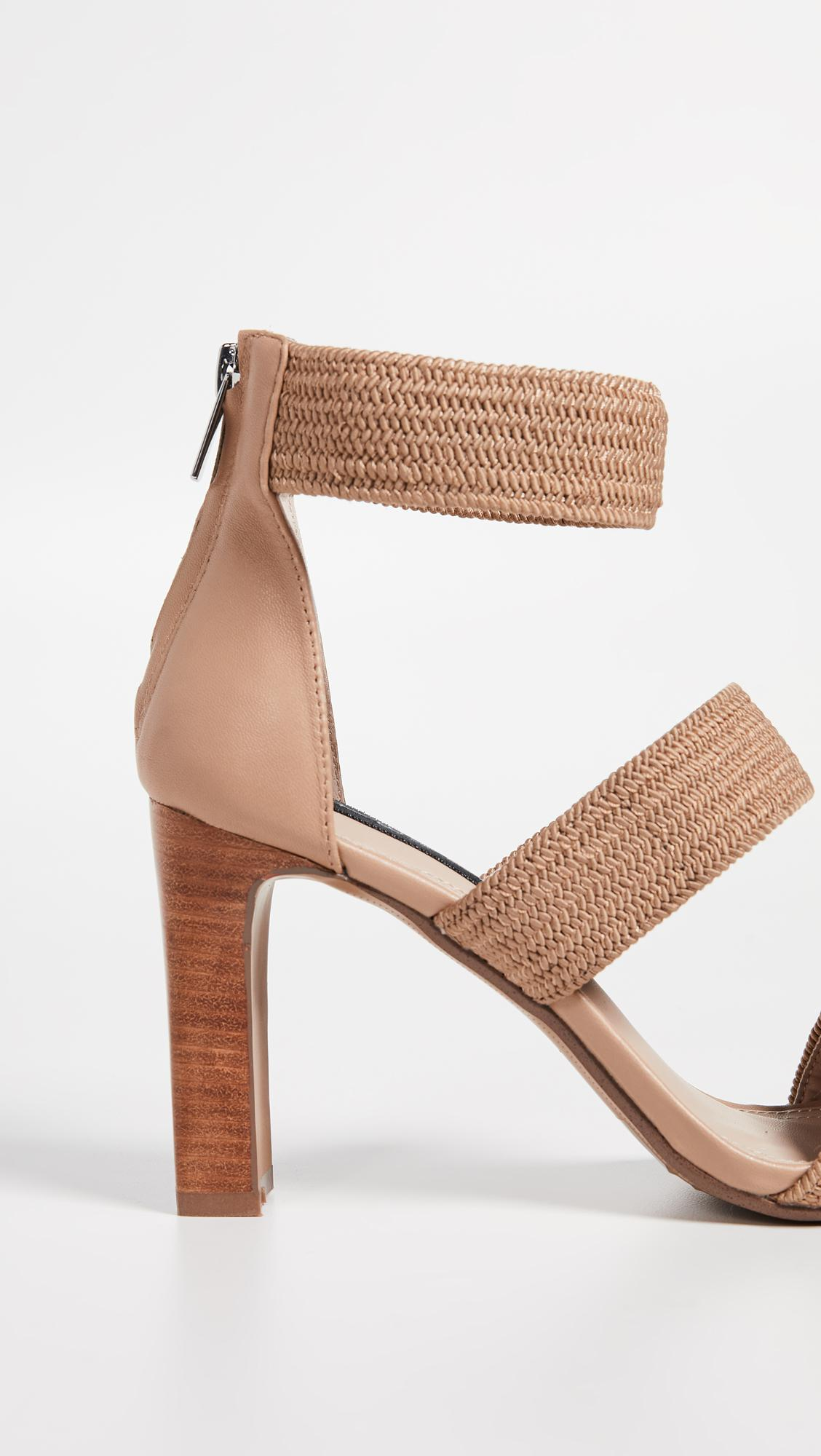 3d97baf4c135 Lyst - Steven by Steve Madden Jelly Strappy Sandals in Natural