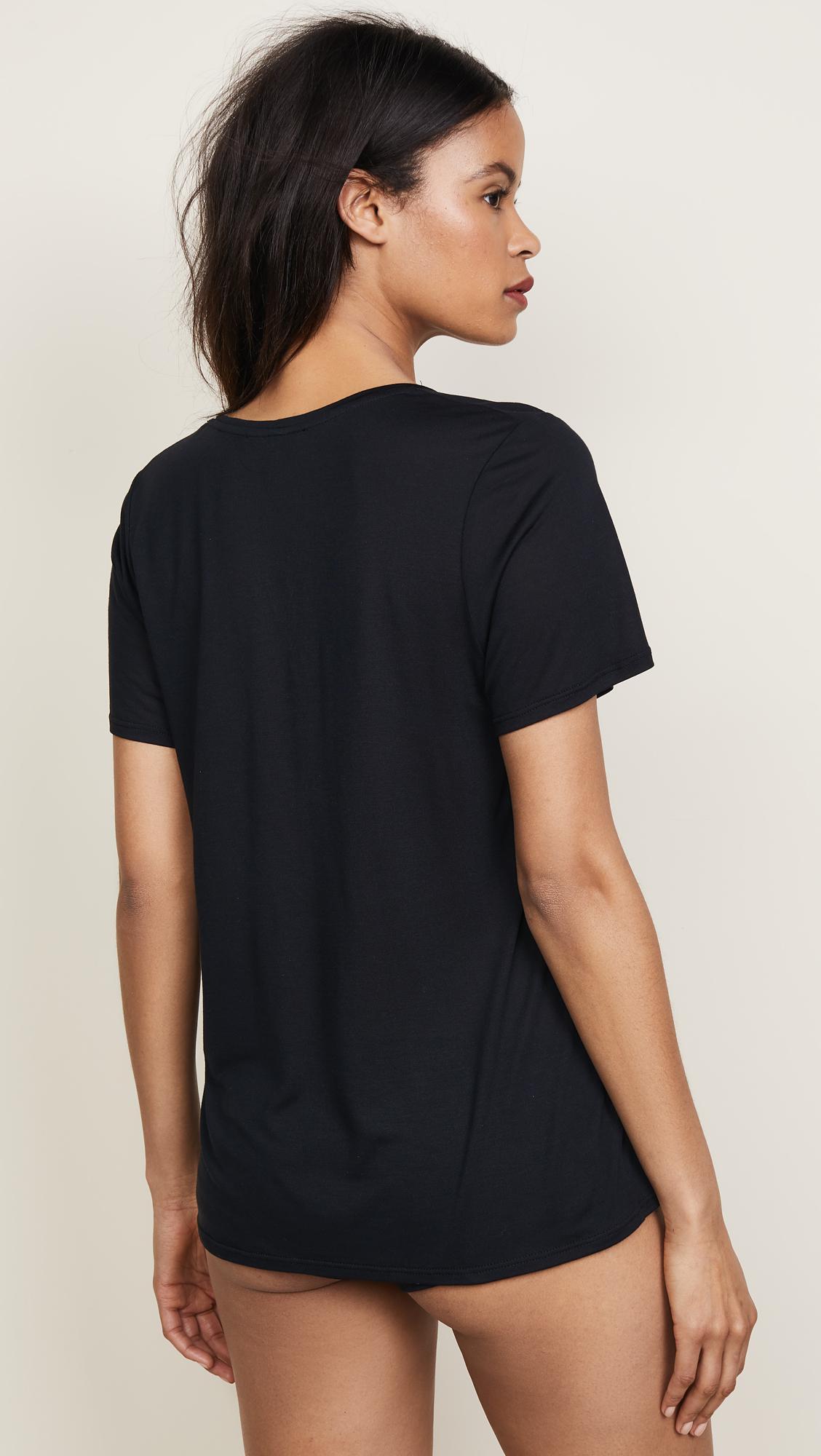 Kiki de Montparnasse - Black Intime T-shirt - Lyst. View fullscreen 04e31c376