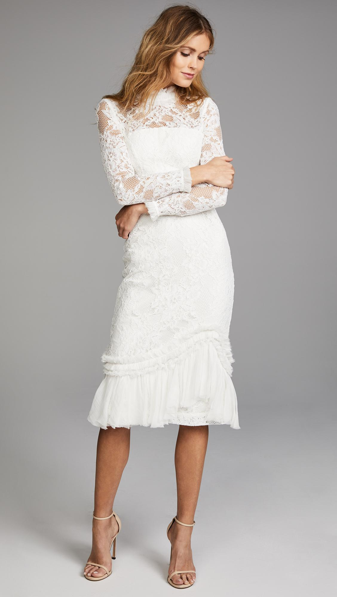 9babc8ae Alexis Anabella Dress in White - Lyst
