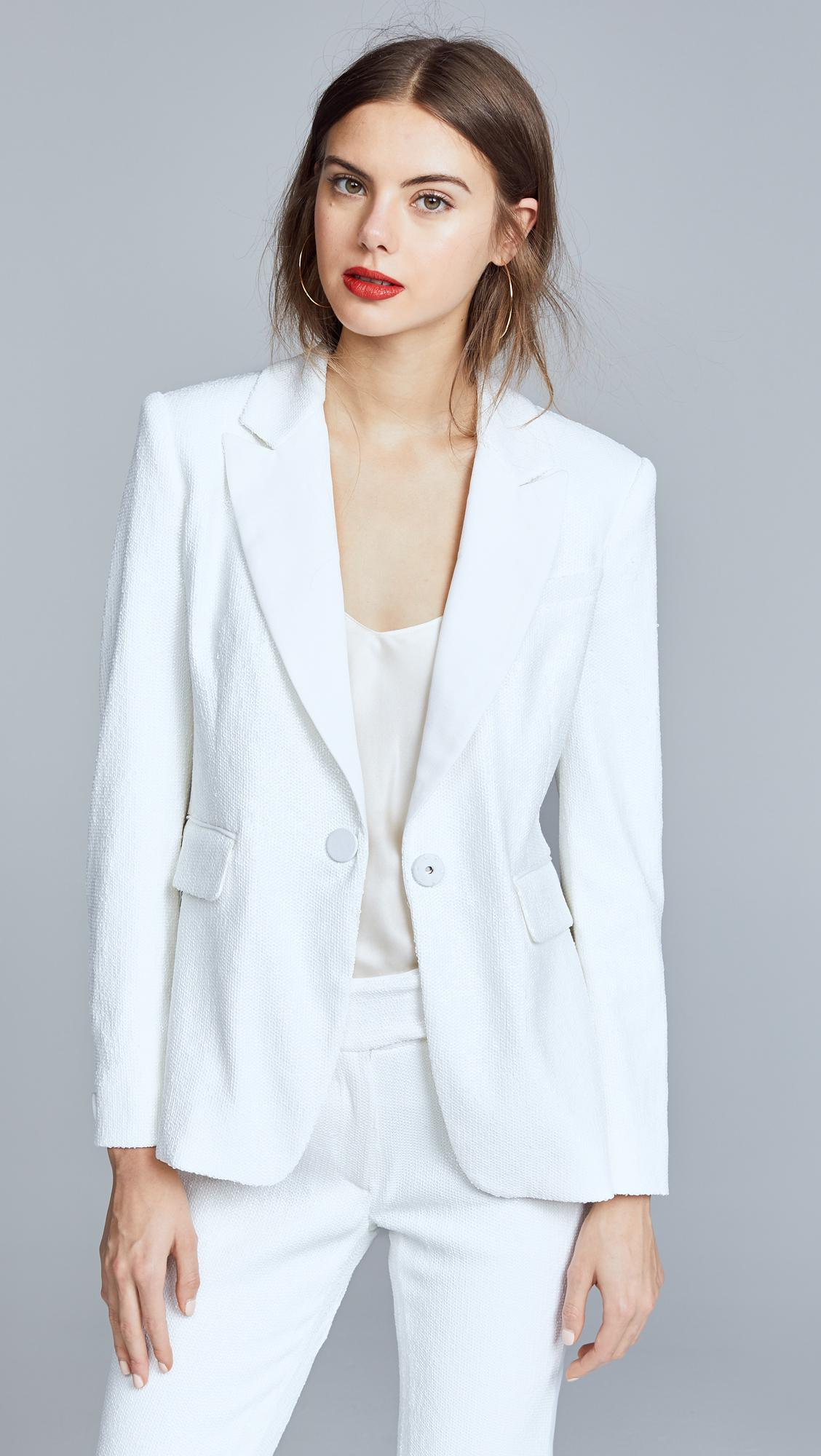 Rachel Zoe Structured Knit Blazer Discount For Sale Visit Shop Offer Cheap Price pGPl7pHDJ