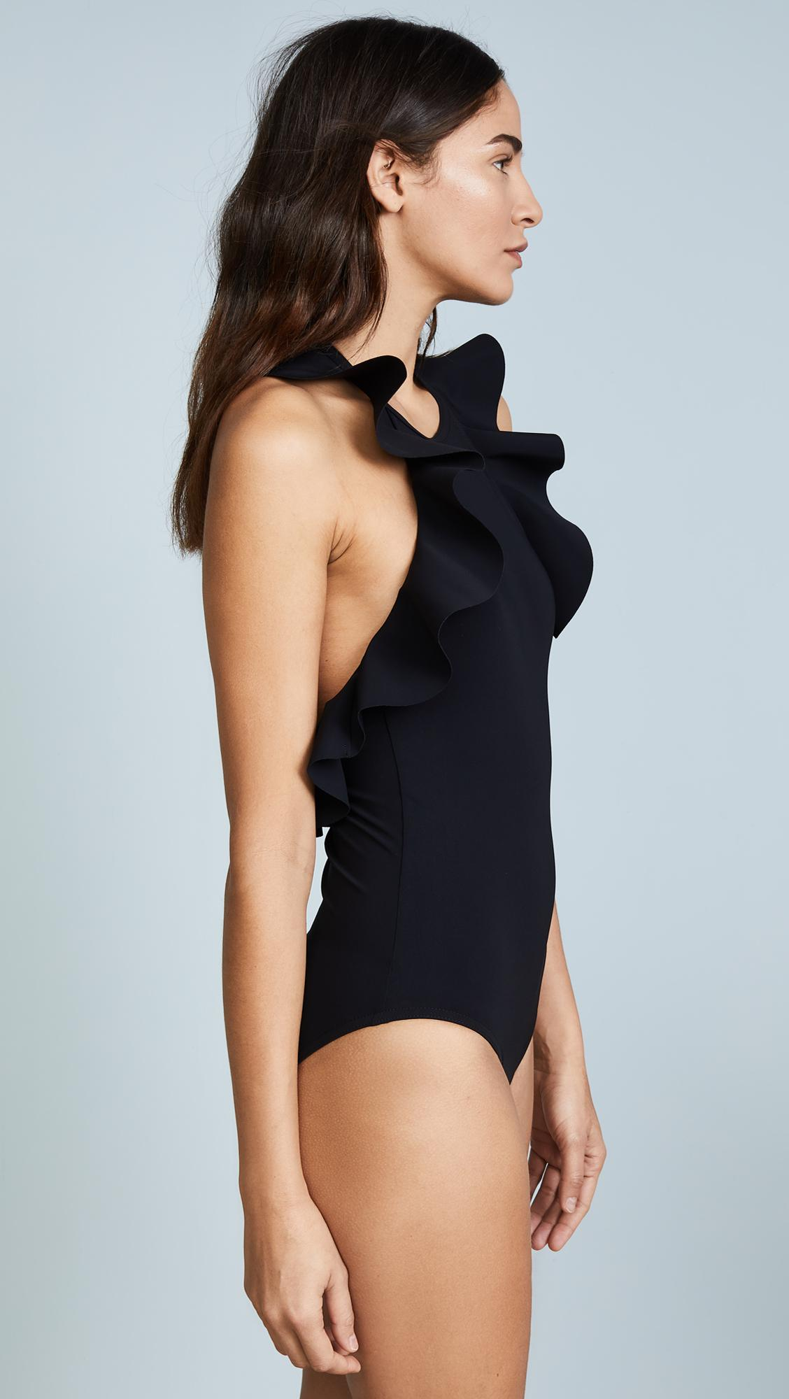 8978f73809997 Karla Colletto - Black Zaha High Neck One Piece - Lyst. View fullscreen