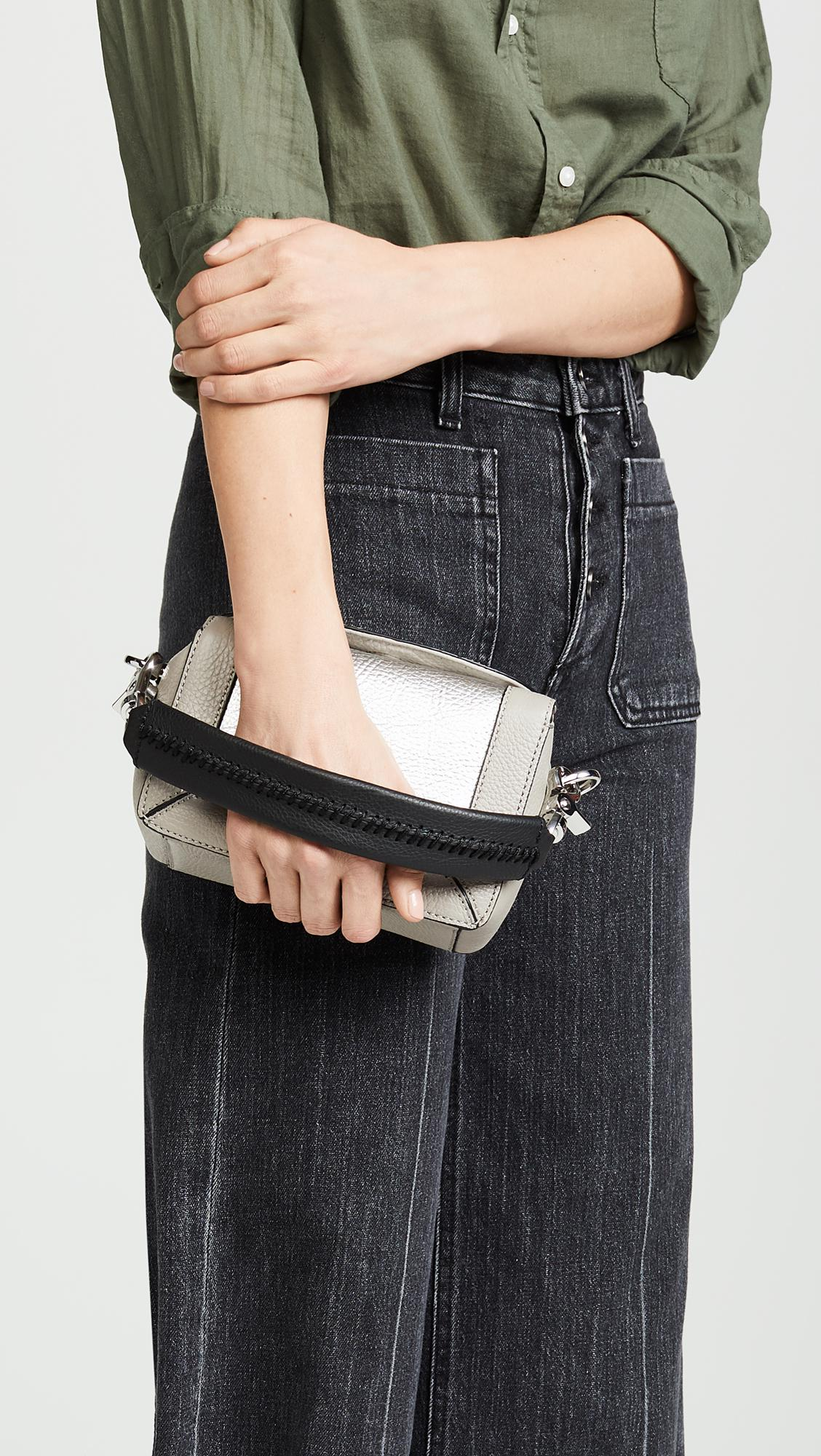 d6a487f9d51f82 Botkier Barrow Top Handle Small Cross Body Bag in Gray - Lyst