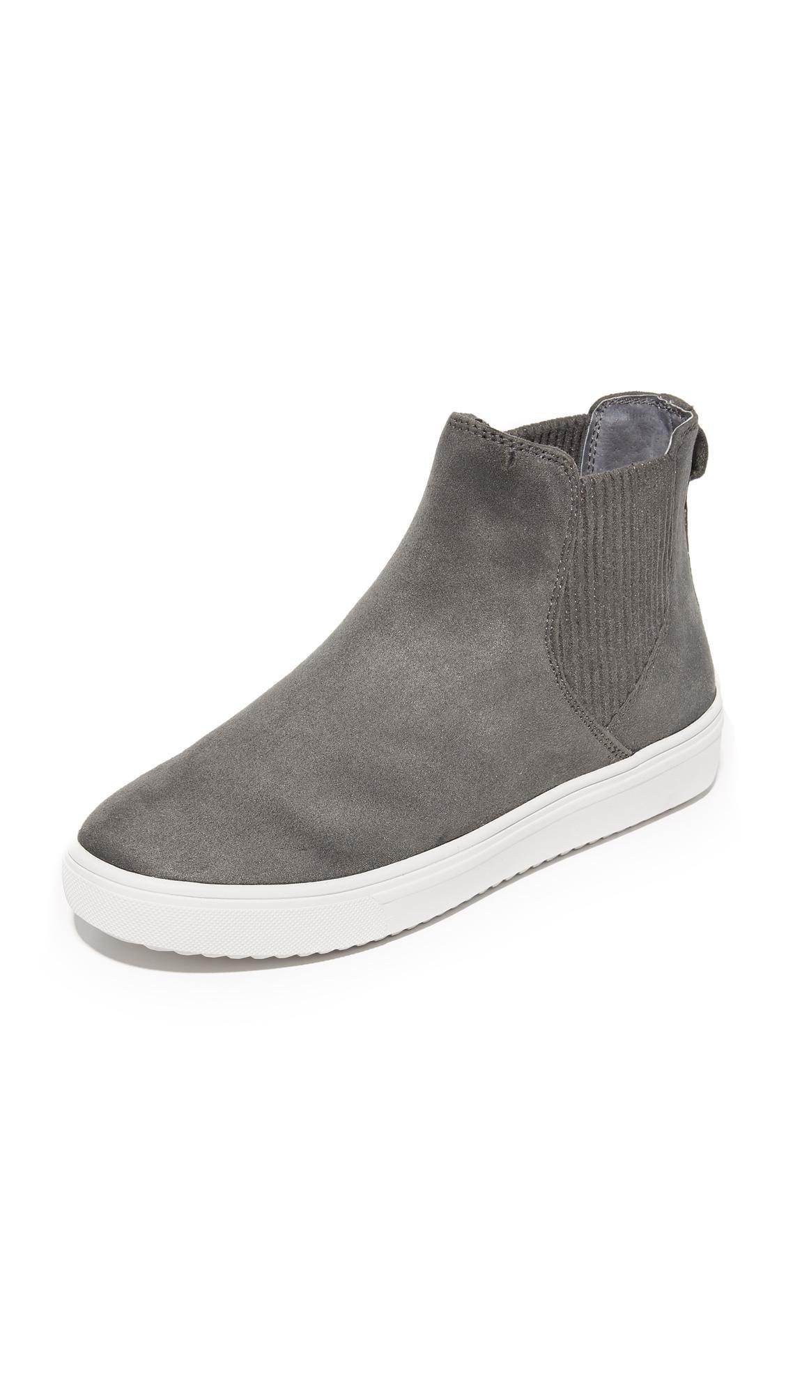 b99ef6a1d059 Lyst - Steven by Steve Madden Coal Platform Chelsea Sneakers in Gray
