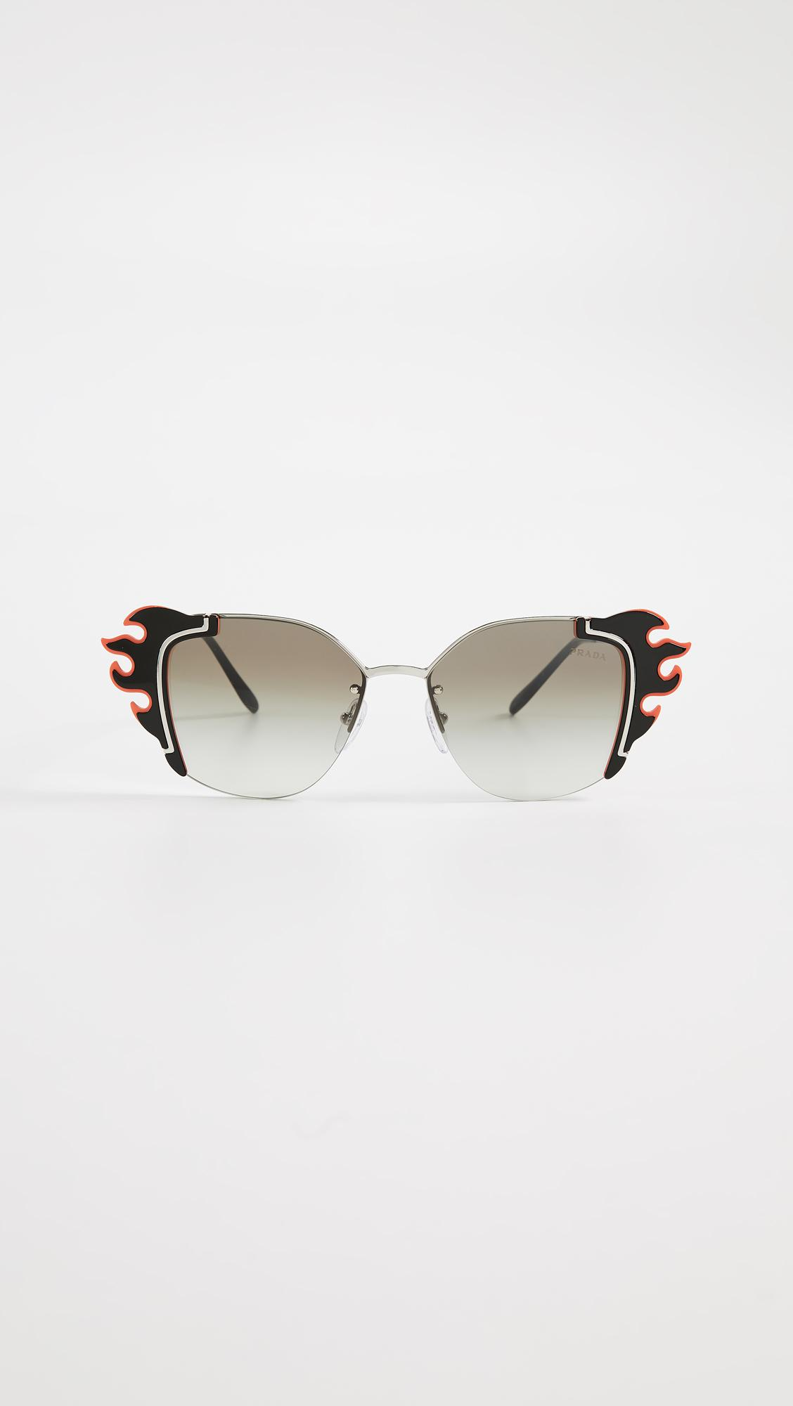 a140fb5d4a53 Prada - Multicolor Pr 59vs Flame Cat Eye Sunglasses - Lyst. View fullscreen
