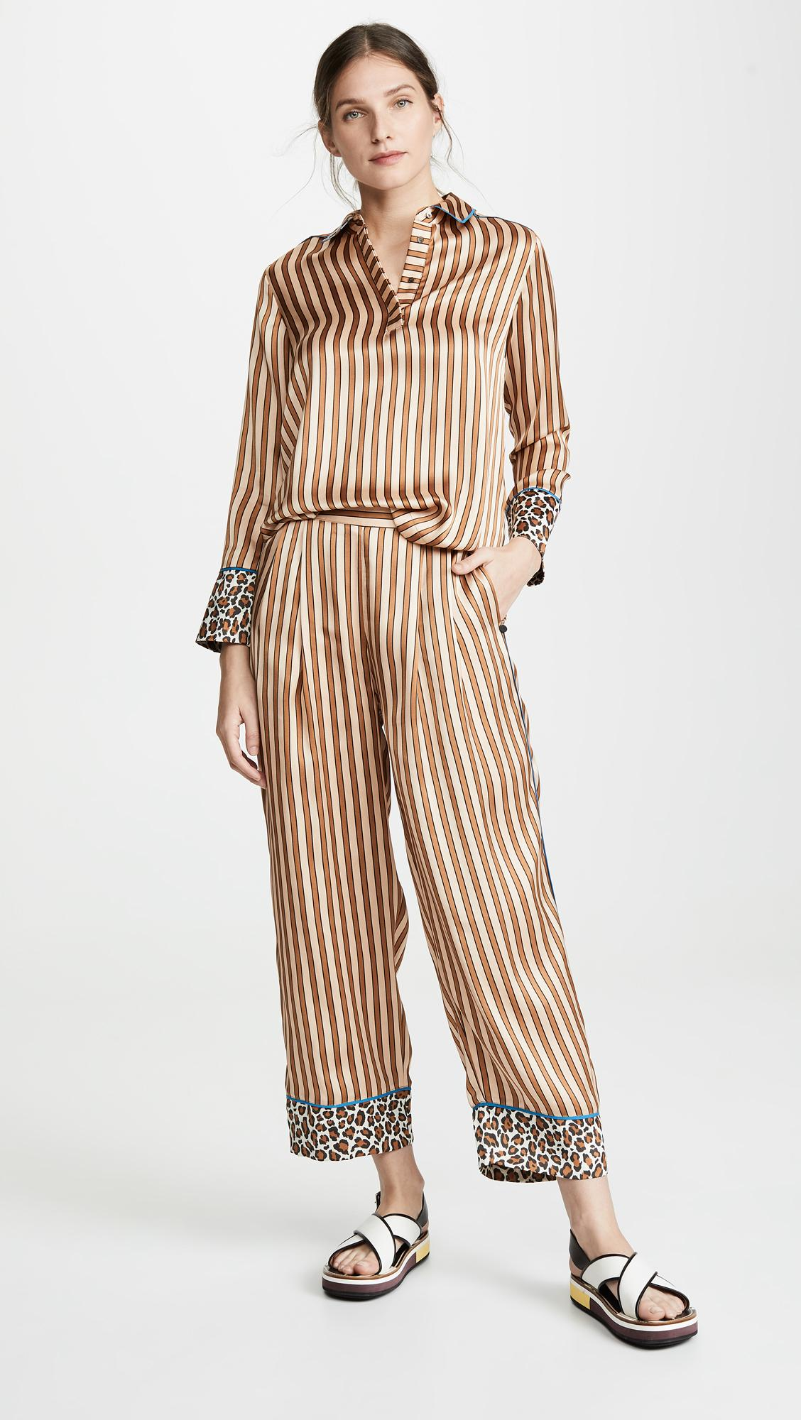 603284b1057d Lyst - Scotch & Soda Pajama Inspired Top