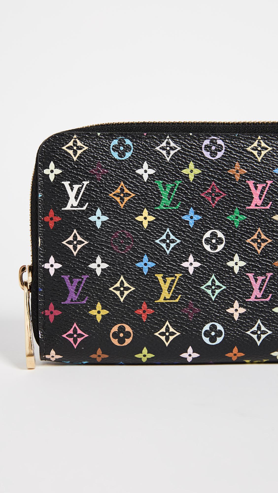 a1321ddf64a1 Lyst - What Goes Around Comes Around Louis Vuitton Epi Zippy Wallet ...