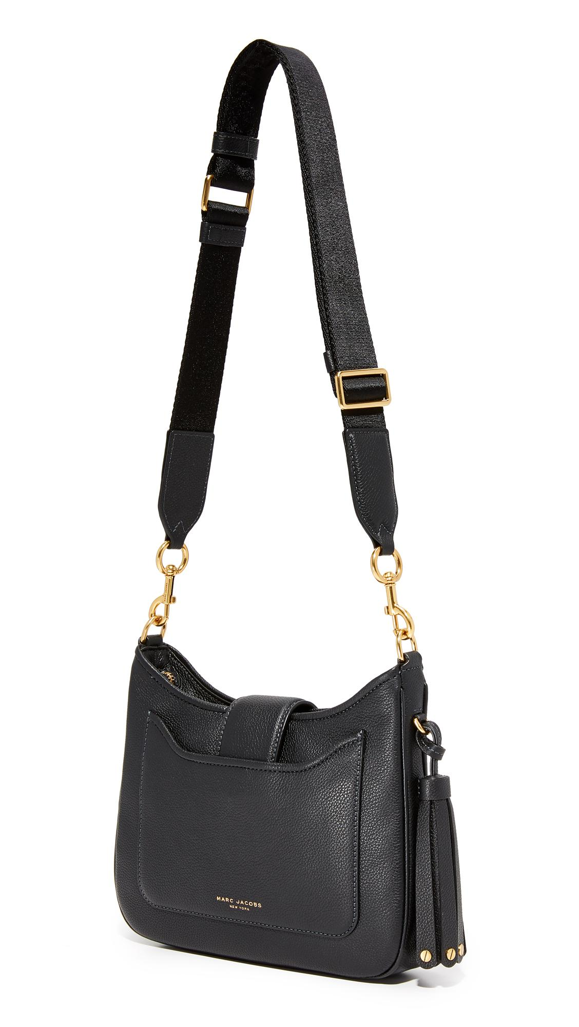 Lyst - Marc Jacobs Interlock Small Hobo Bag in Black a219bf787413f