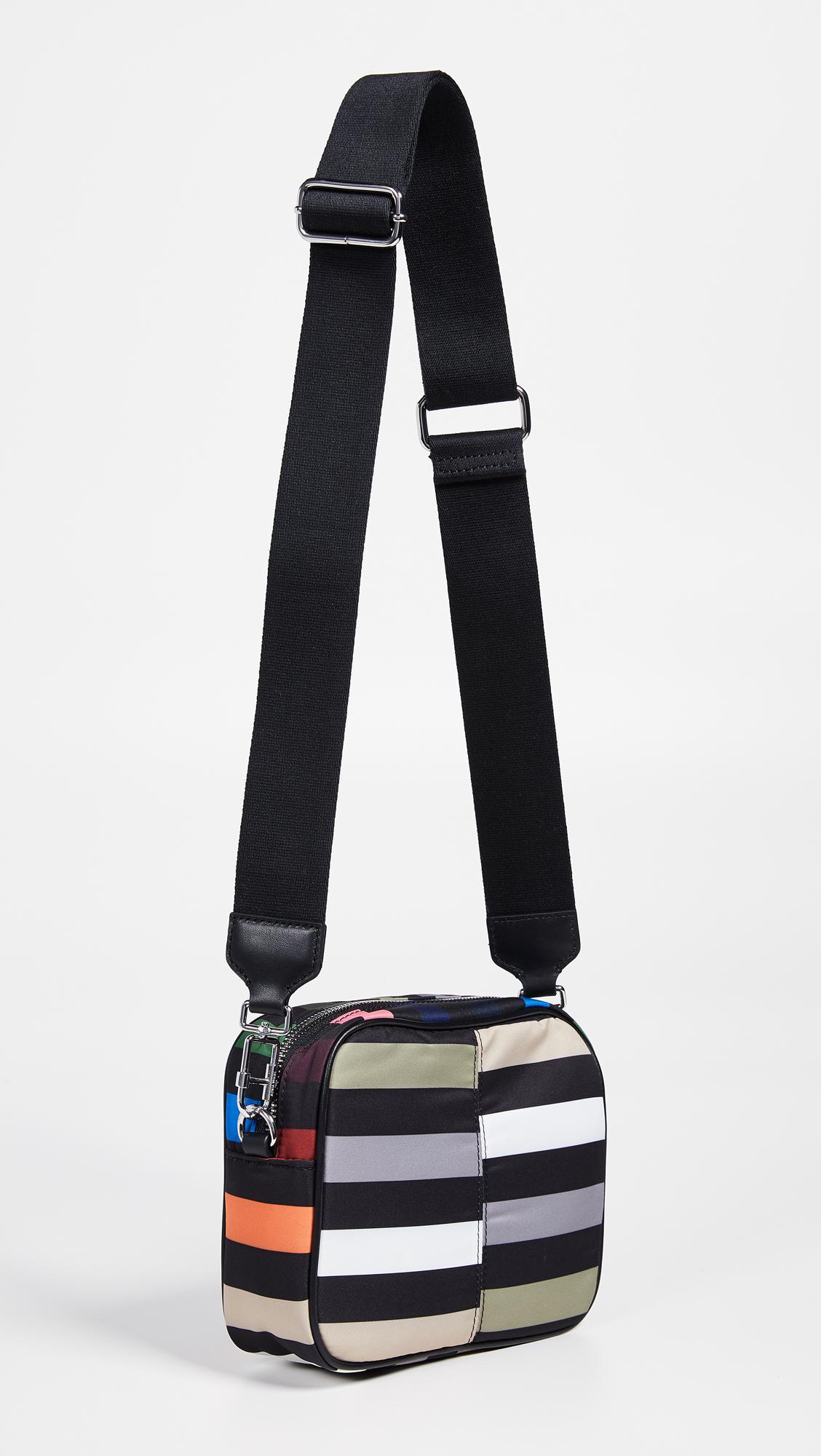 9c79a40c35a Sonia Rykiel Stripe Camera Bag - Lyst