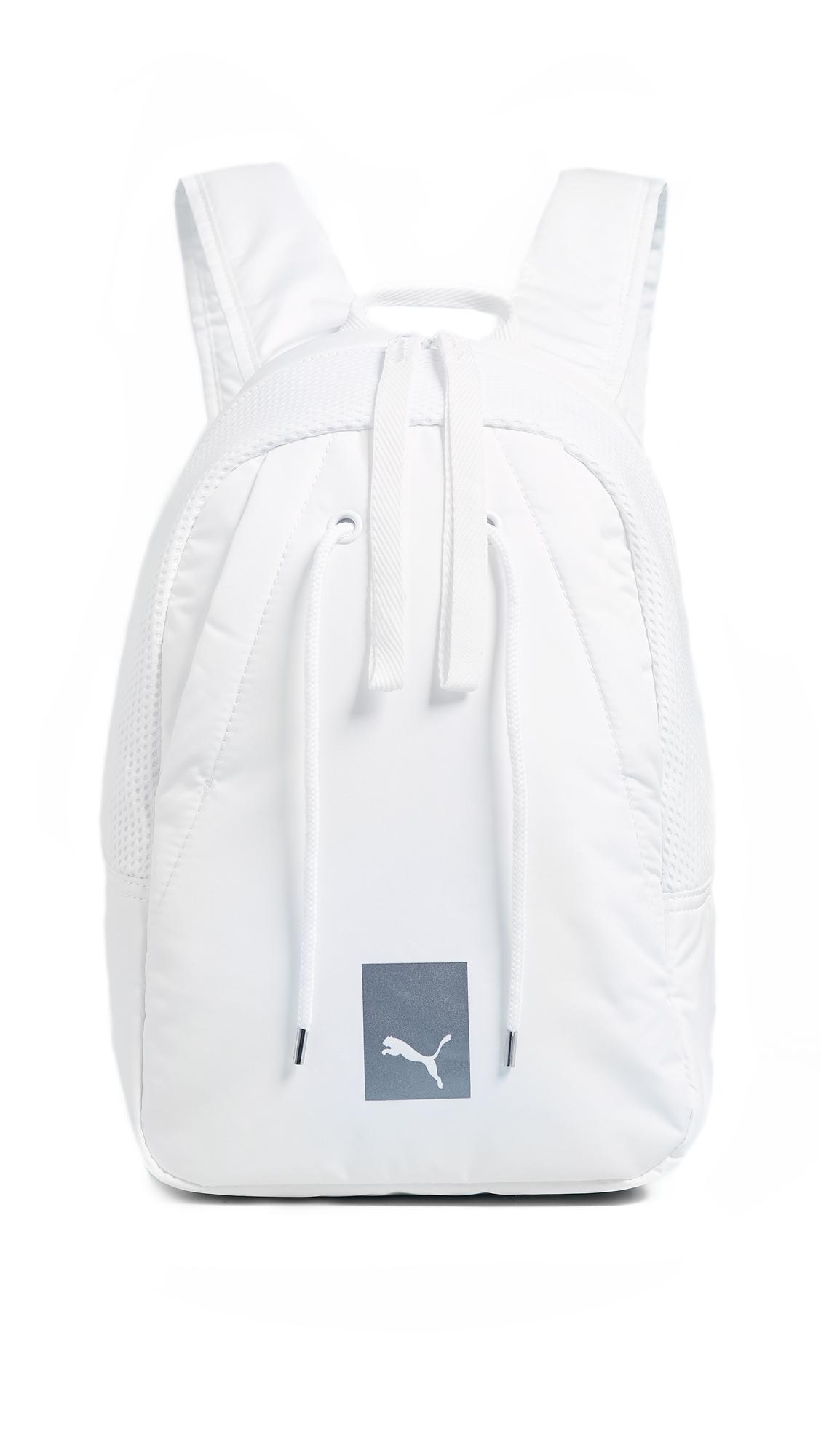 e4a3e9fc8f Lyst - PUMA Prime Small Backpack in White