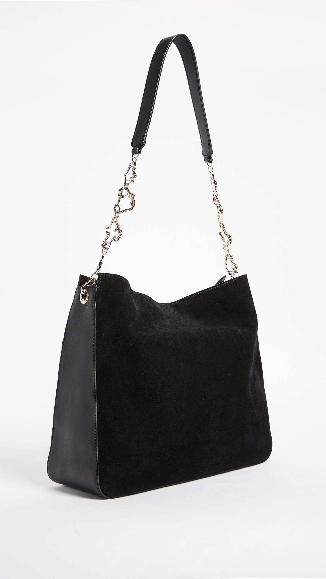 6d7eae1a916c Lyst - Versace Medium Shoulder Bag in Black