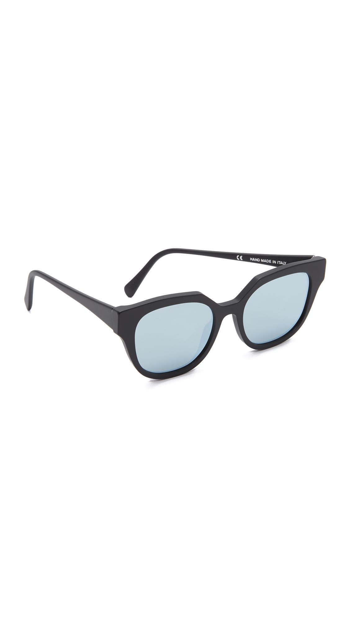 Zizza Zero sunglasses - Black Retro Superfuture 5W9Ggv9RNi