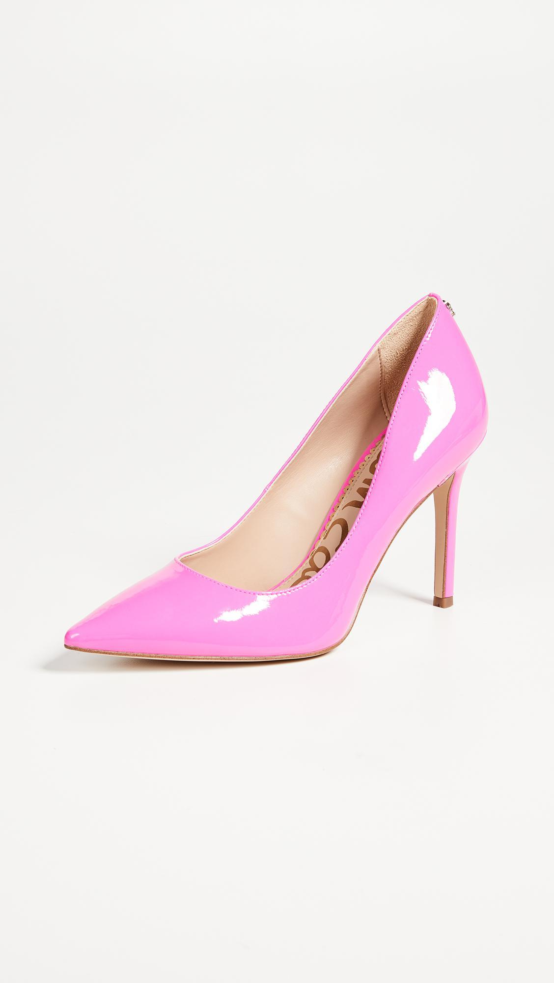 caab3e7dad596 Lyst - Sam Edelman Hazel Pumps in Pink