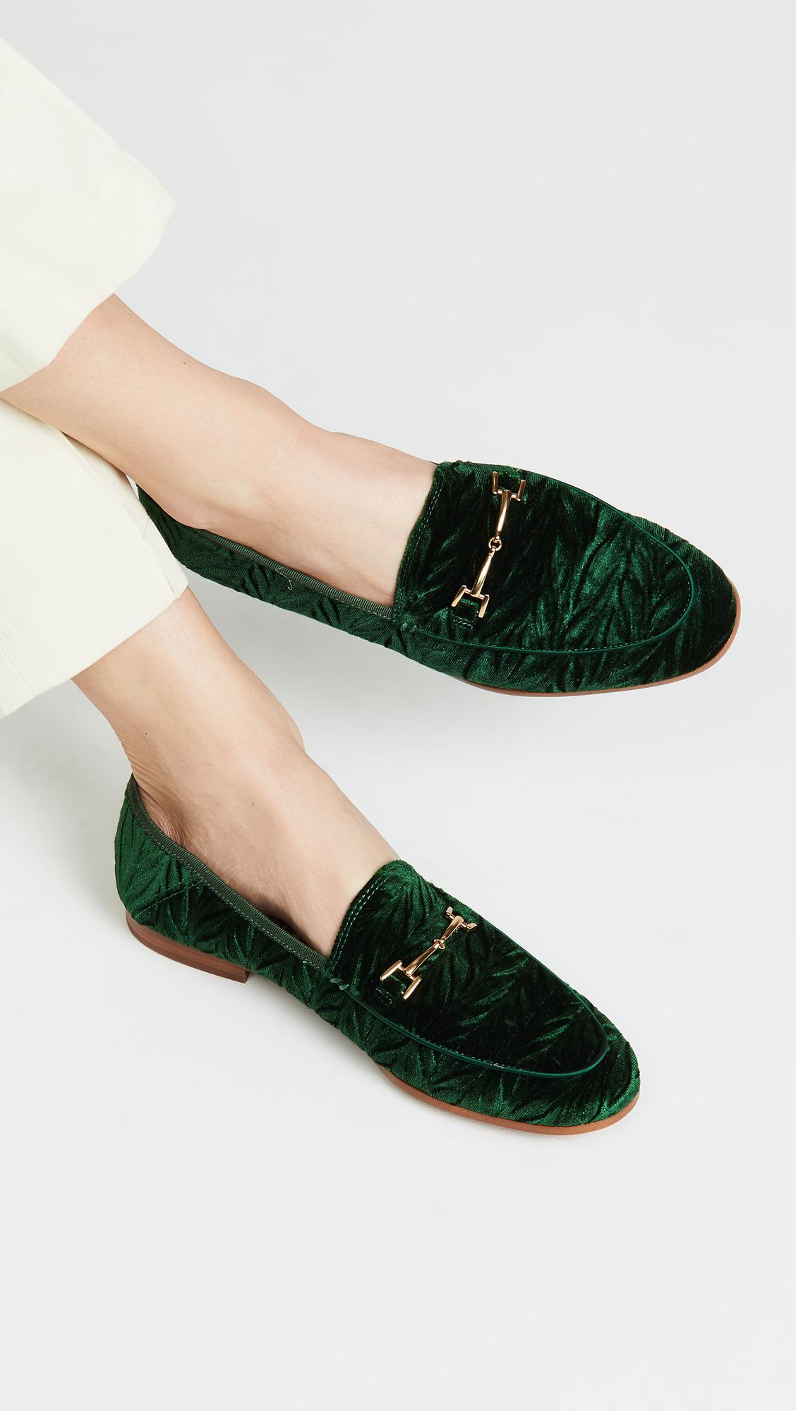 c4734d82208715 Lyst - Sam Edelman Loraine Loafers in Green