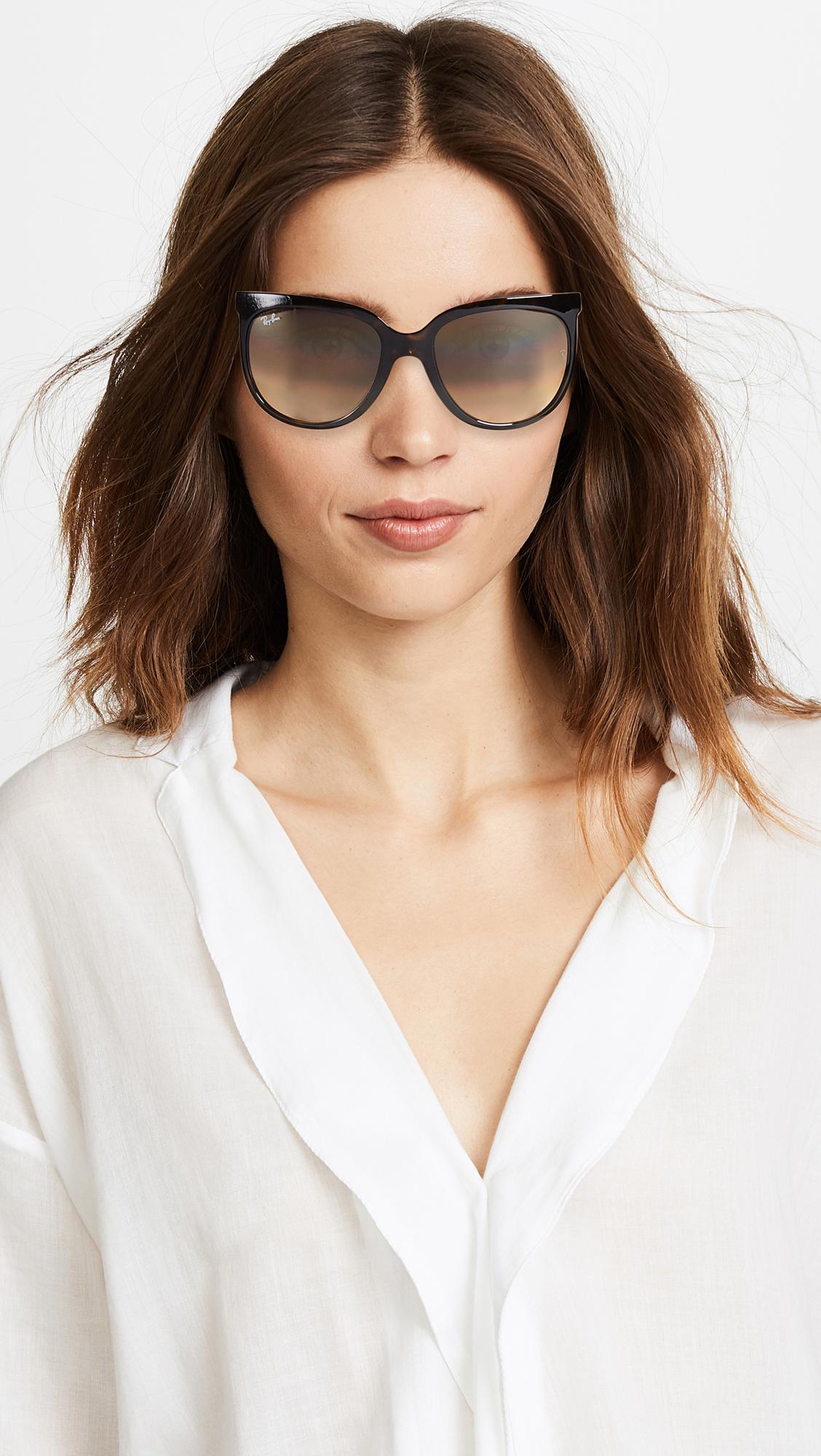 10f227b2bee12 official ray ban brown cats 1000 sunglasses lyst. view fullscreen 44fb1  6dba3