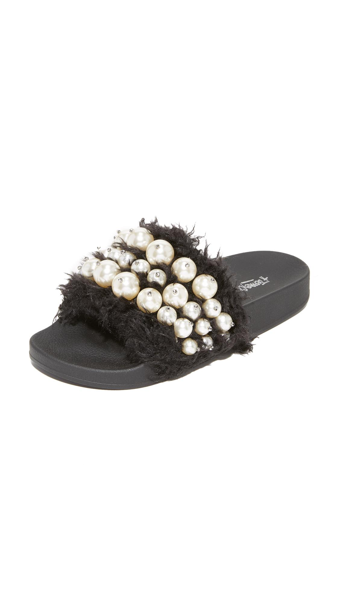 Lyst Jeffrey Campbell Pearl Sandals In Black