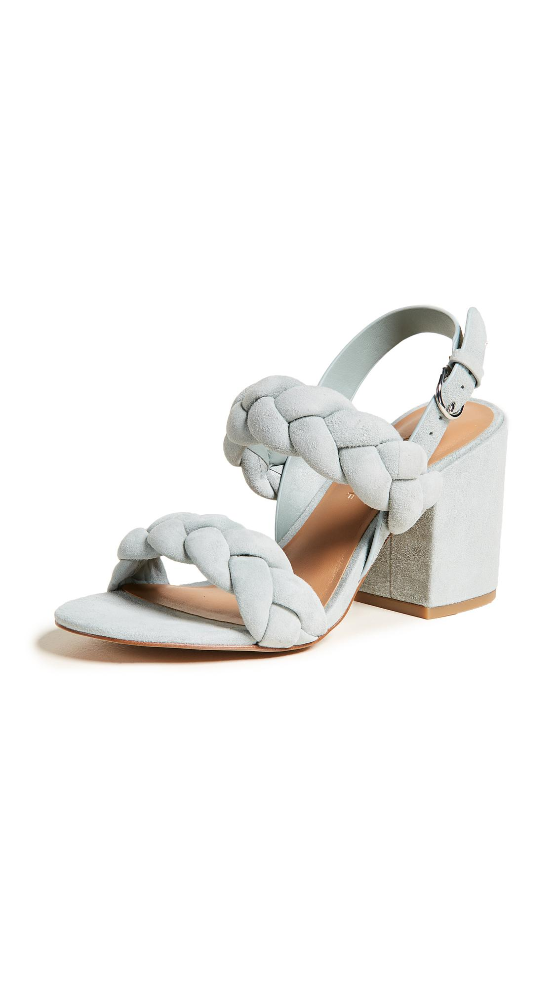 7f1d439d3f6 Lyst - Rebecca Minkoff Candace Braided Sandals
