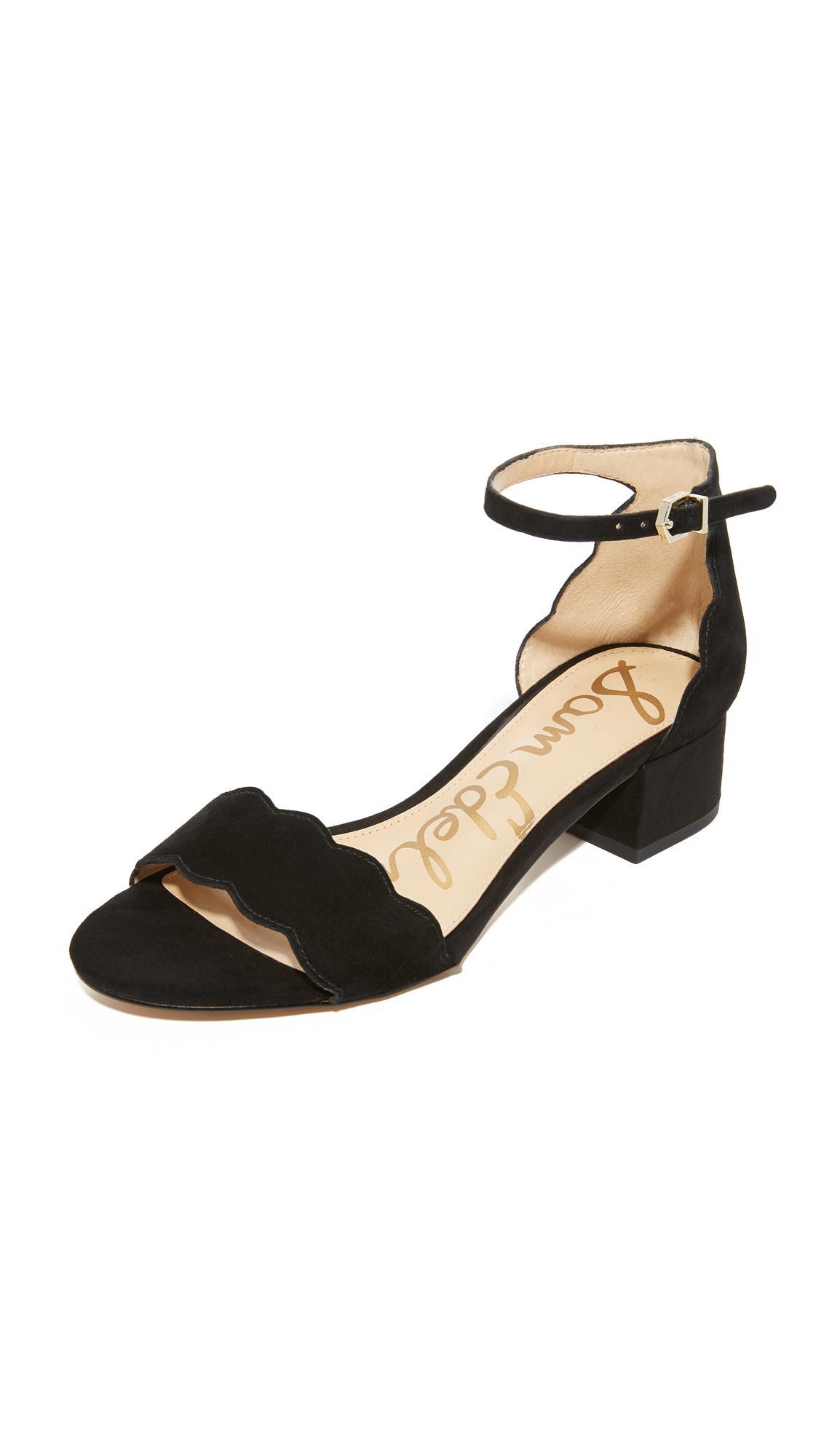 ae8300b4db79 Lyst - Sam Edelman Inara City Sandals in Black