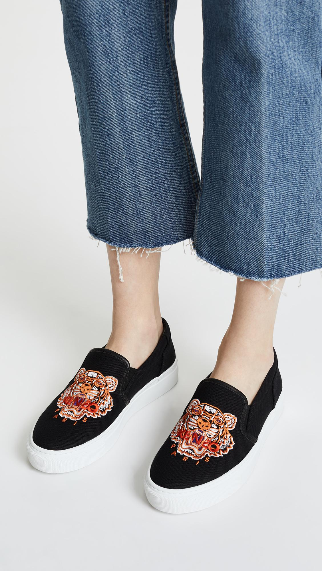 Fashion Style Online Kenzo Women's K-Skate Tiger Slip-On Trainers Inexpensive Sneakernews Online 2018 New Cheap Price Pay With Paypal Cheap Price gP8eSe