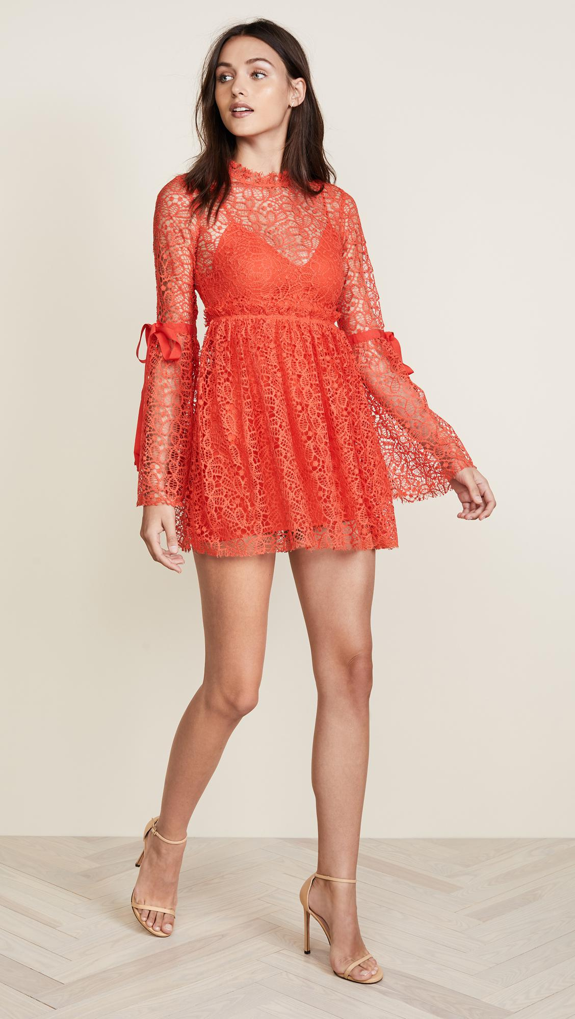 521501684f Lyst - Alice McCALL Back To You Dress in Red
