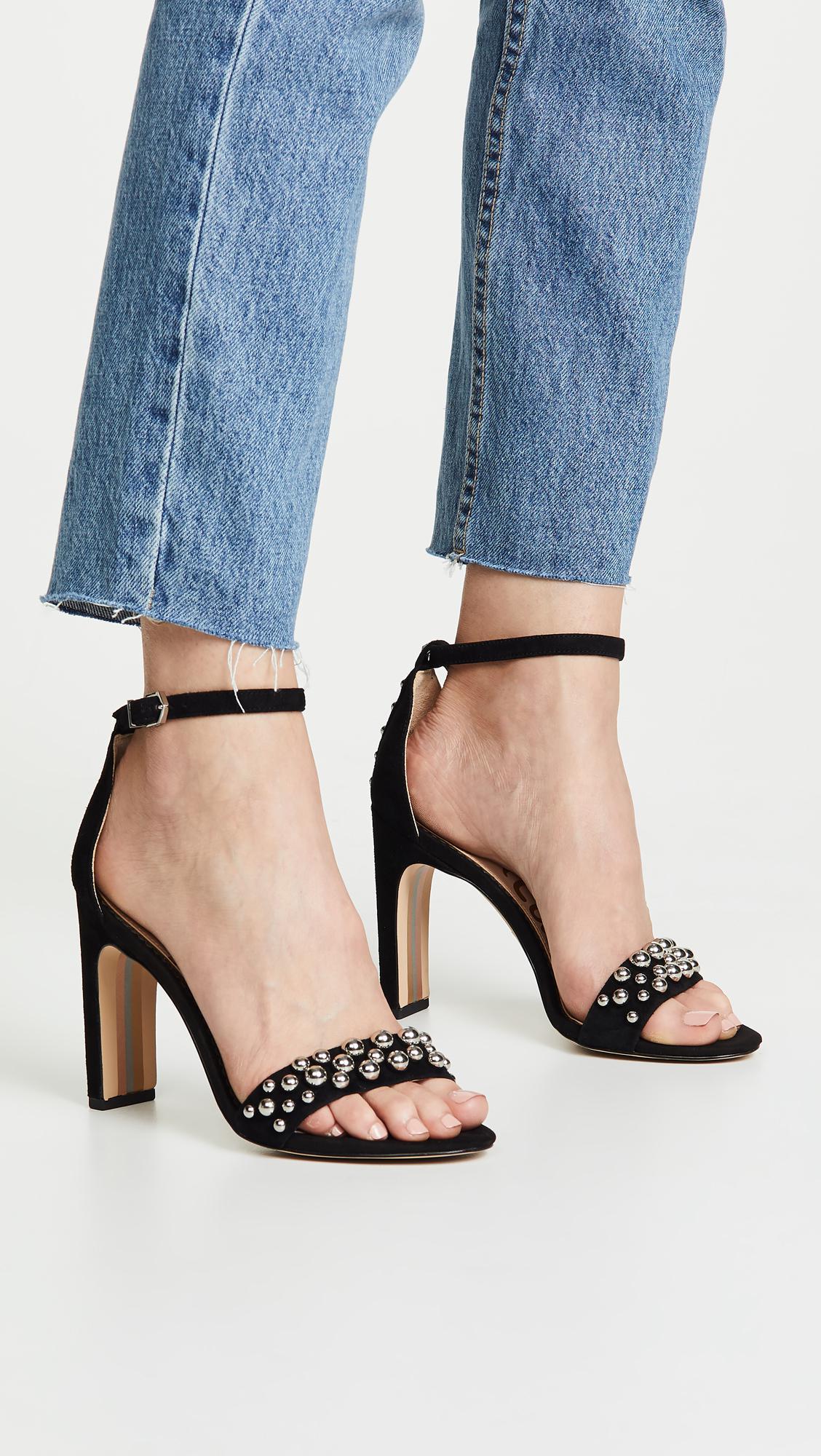 1820be5e511e Lyst - Sam Edelman Yoshi Sandals in Black