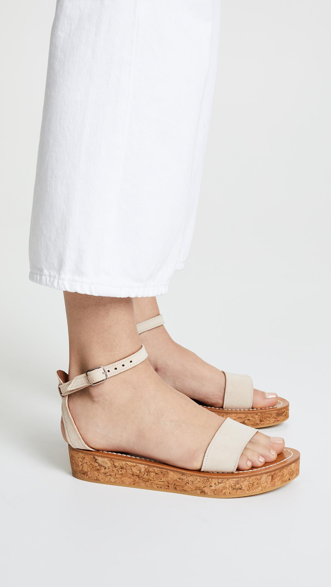 6342f038bd6 Lyst - K. Jacques Talloire Flatform Sandals