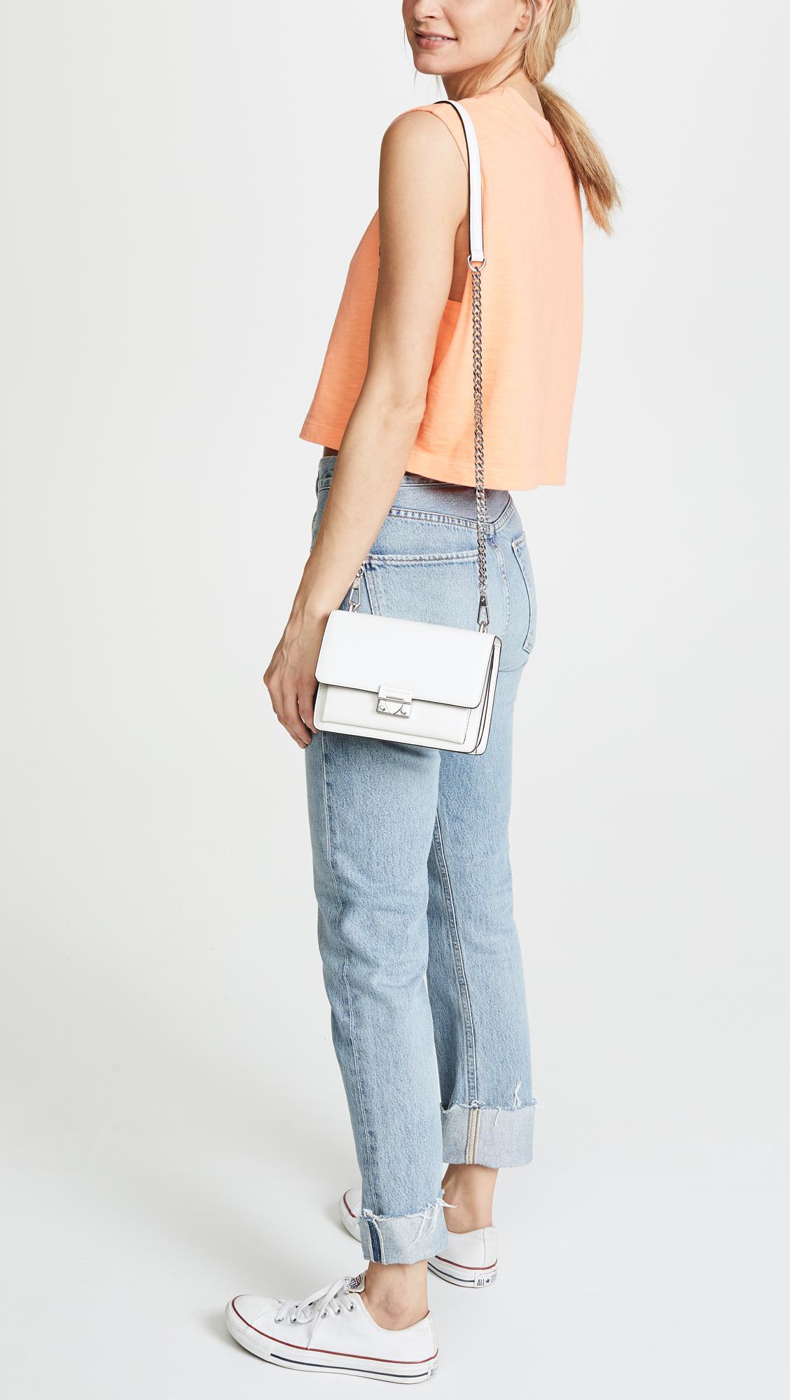 d118c8eb6211 Lyst - Rebecca Minkoff Christy Small Shoulder Bag