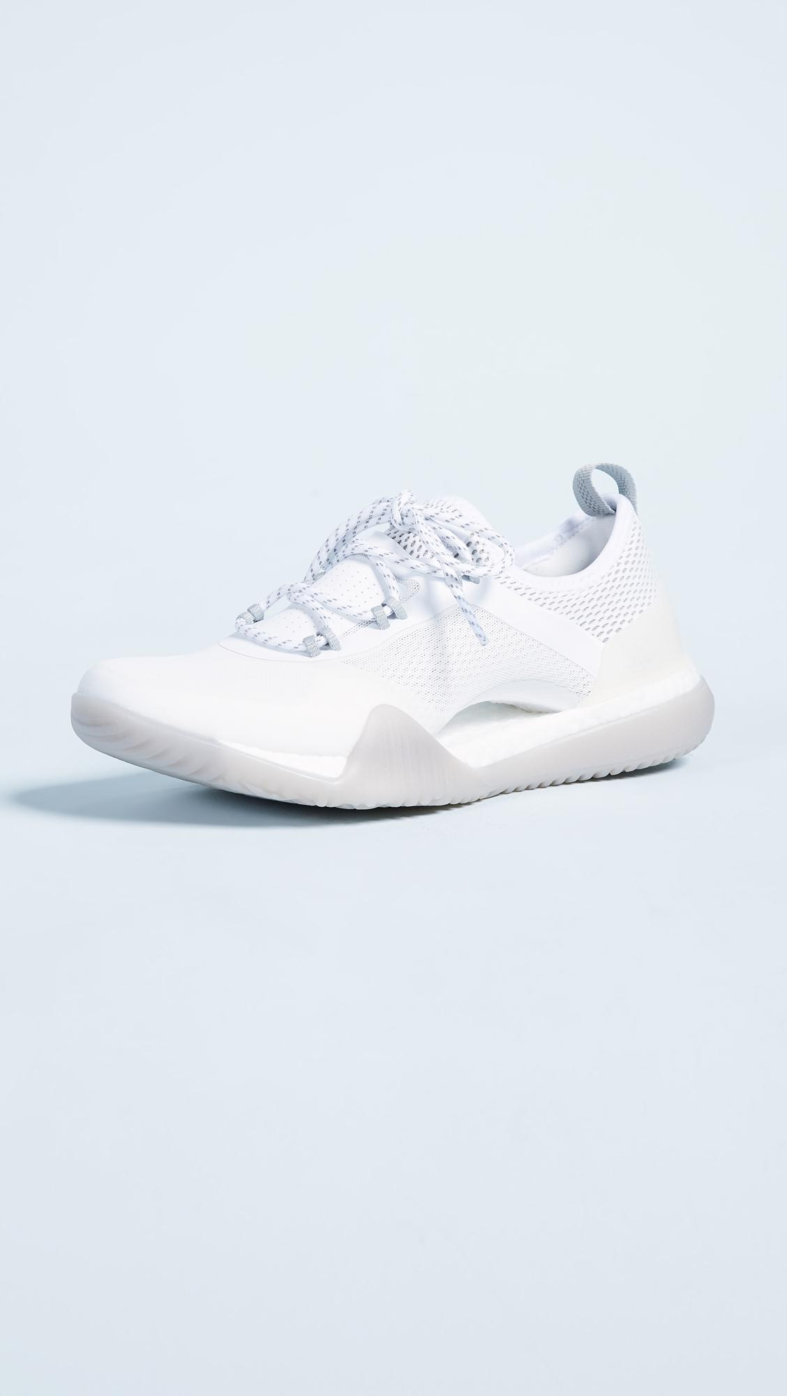 Adidas by Stella McCartney Lyst pureboost blanco x tr zapatillas en blanco pureboost 8254f2