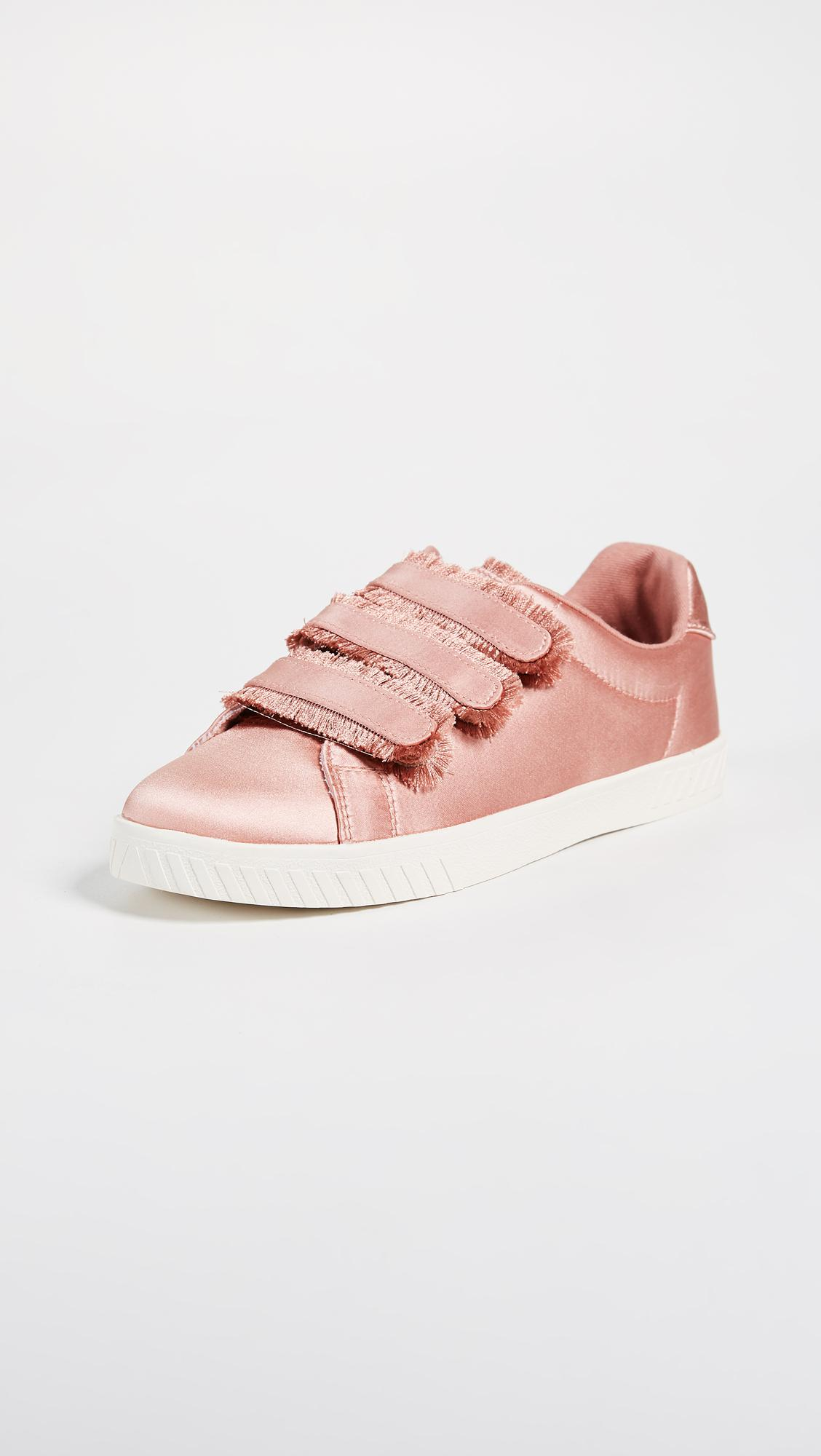 Clearance For Cheap Cheap Sale Exclusive Tretorn Carry Fringe Satin Sneaker(Women's) -Crudo Denim Outlet Order 2NLEcpi