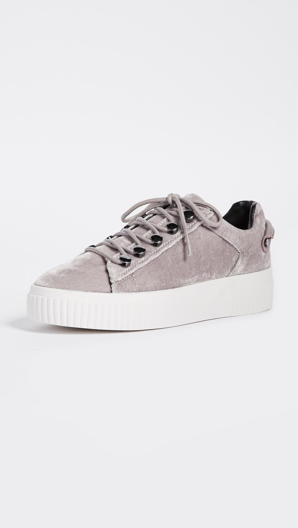 IRO Velvet Platform Trainers outlet order free shipping best wholesale discount latest collections pwQ9u7o