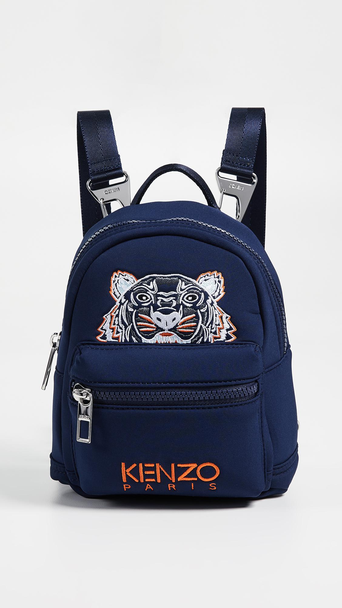 583dadca1c86 KENZO Mini Backpack in Blue - Save 1% - Lyst