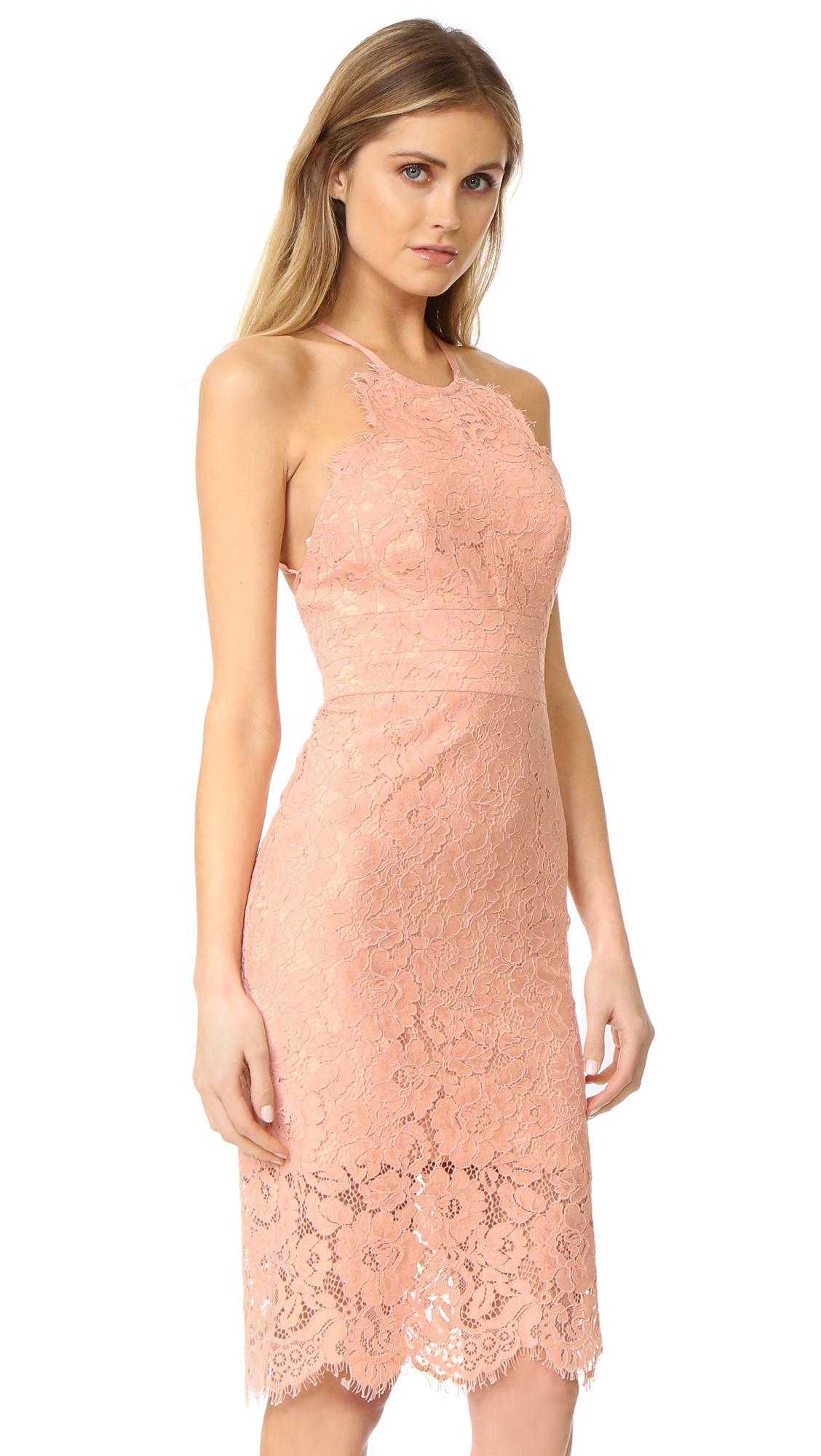 e7d5b9f60526 Lover Oasis Halter Dress in Pink - Lyst