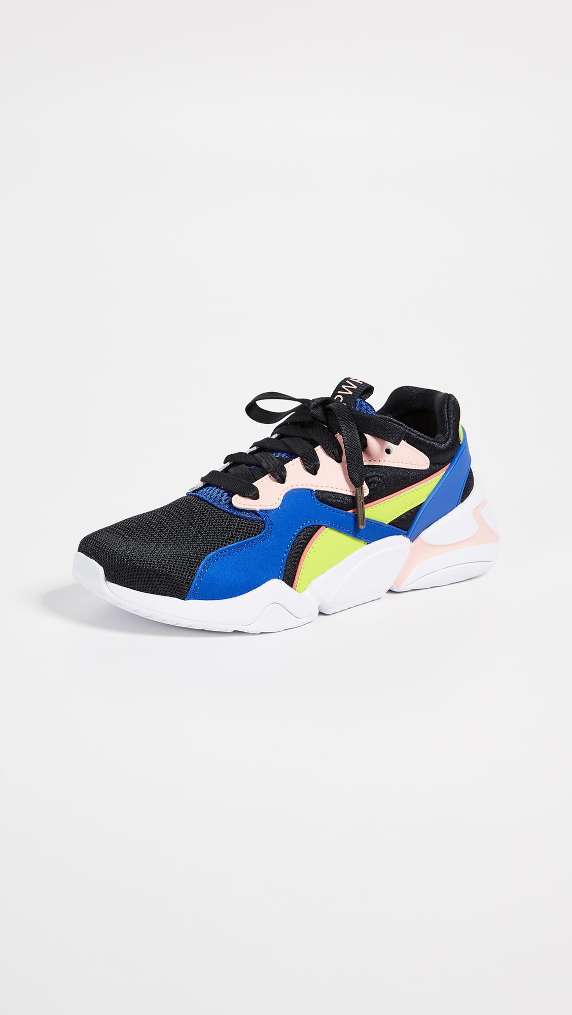 In Sneakers Power Puma Blue Girl Lyst Nova POn0k8w