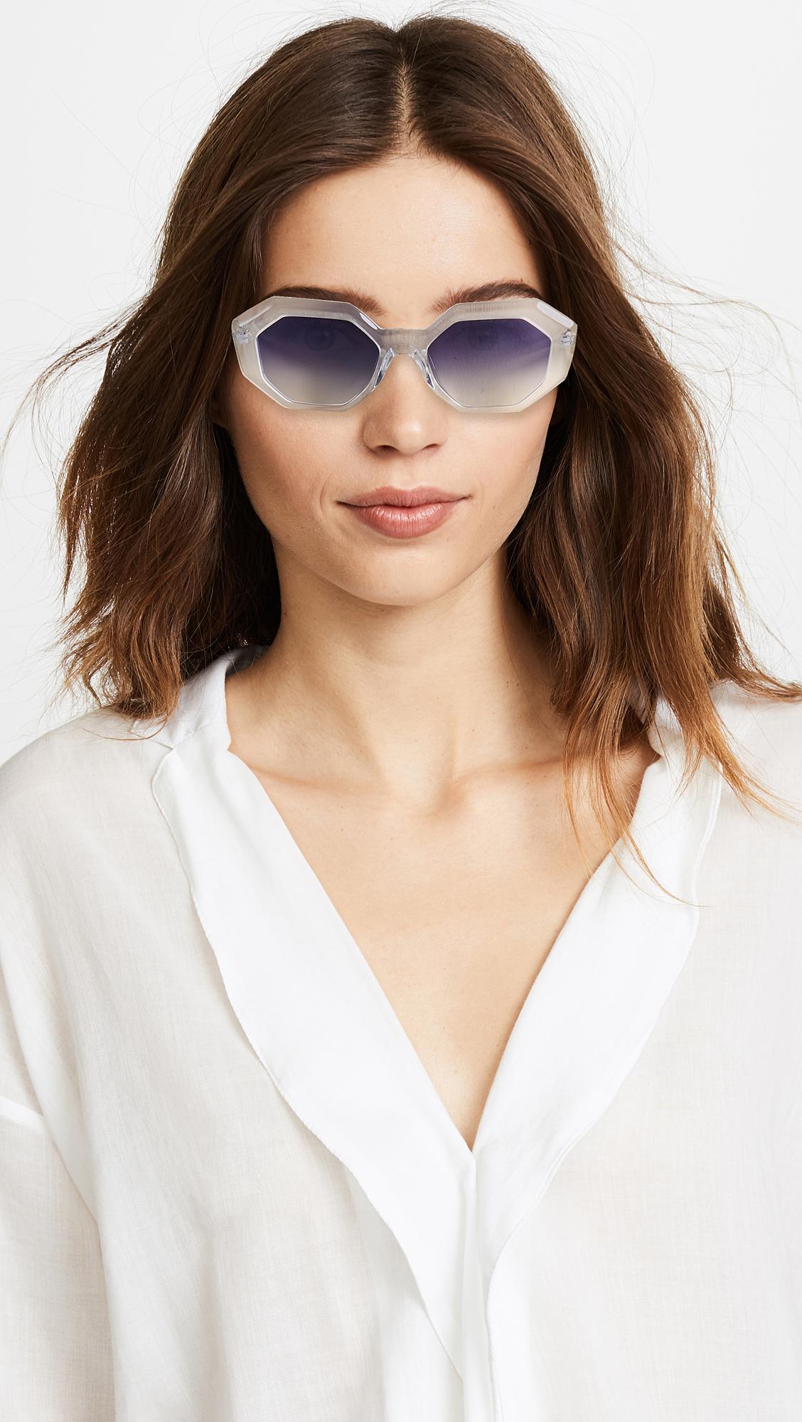 GARRETT LEIGHT Jacqueline sunglasses nEtGd2kvJQ