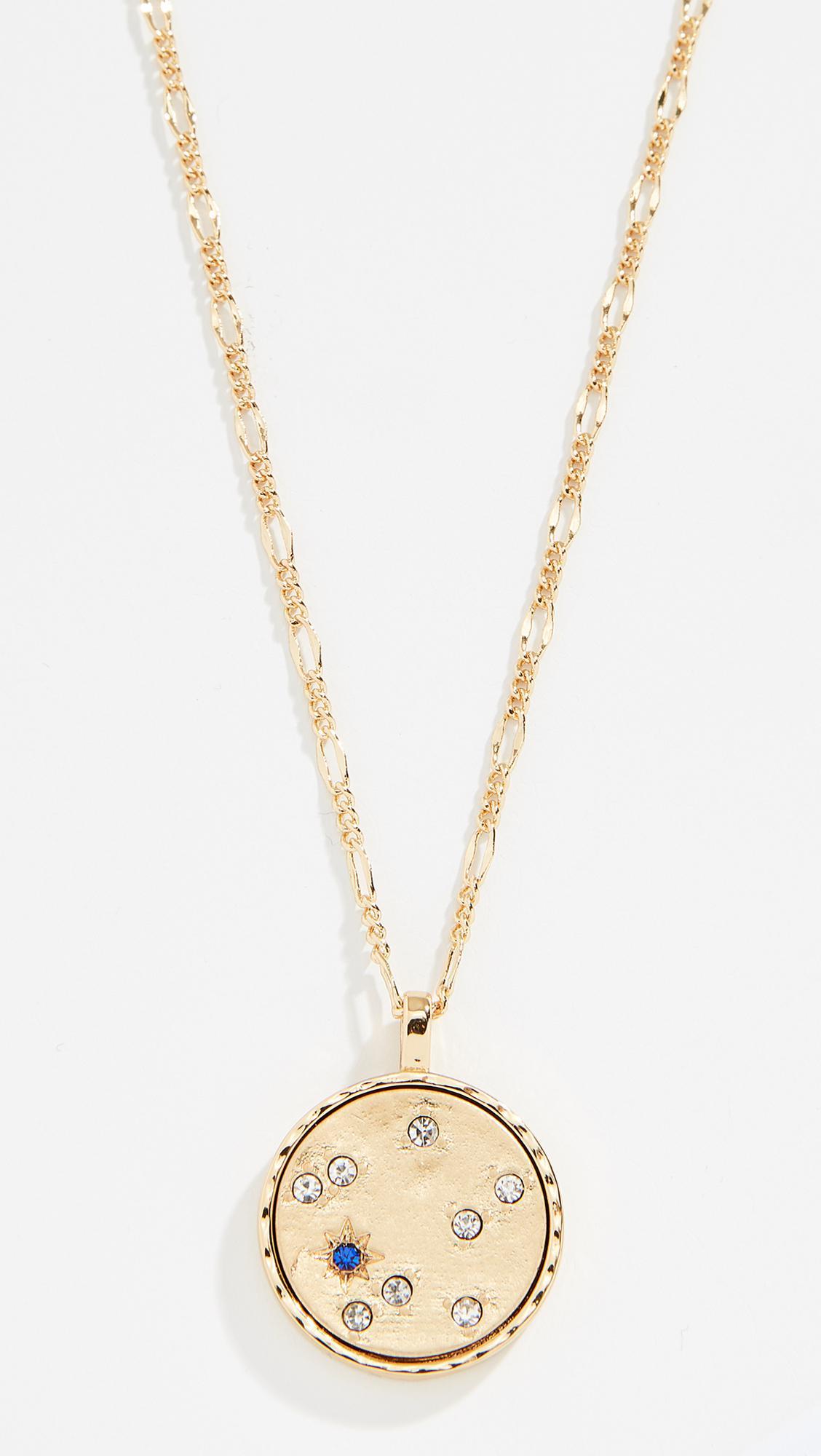 94938b7175440 ... real baublebar. womens metallic september pandora pendant necklace  d8d51 5c4cb