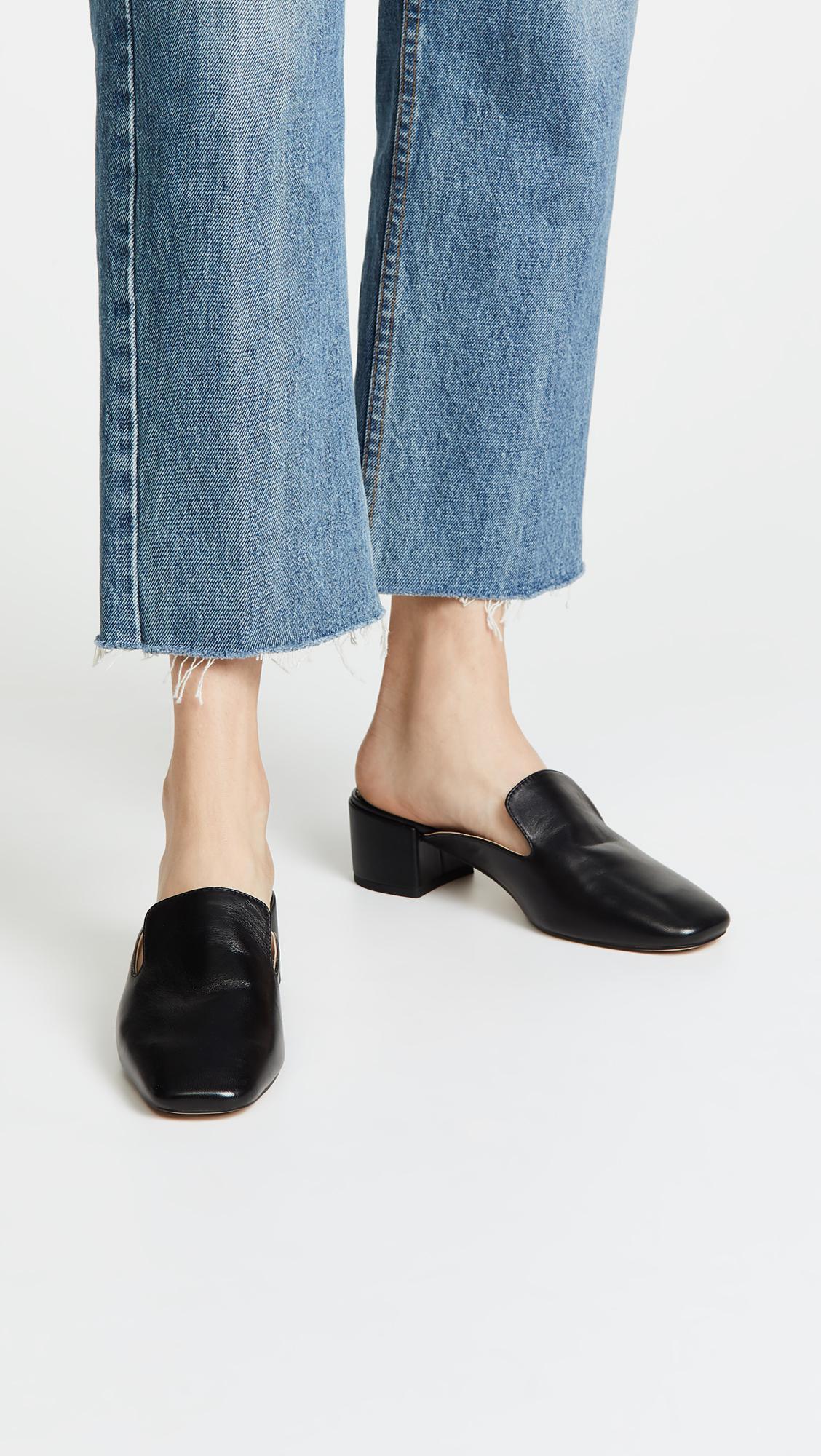 1f27affb3f7 Lyst - Sam Edelman Adair Mule Loafers in Black