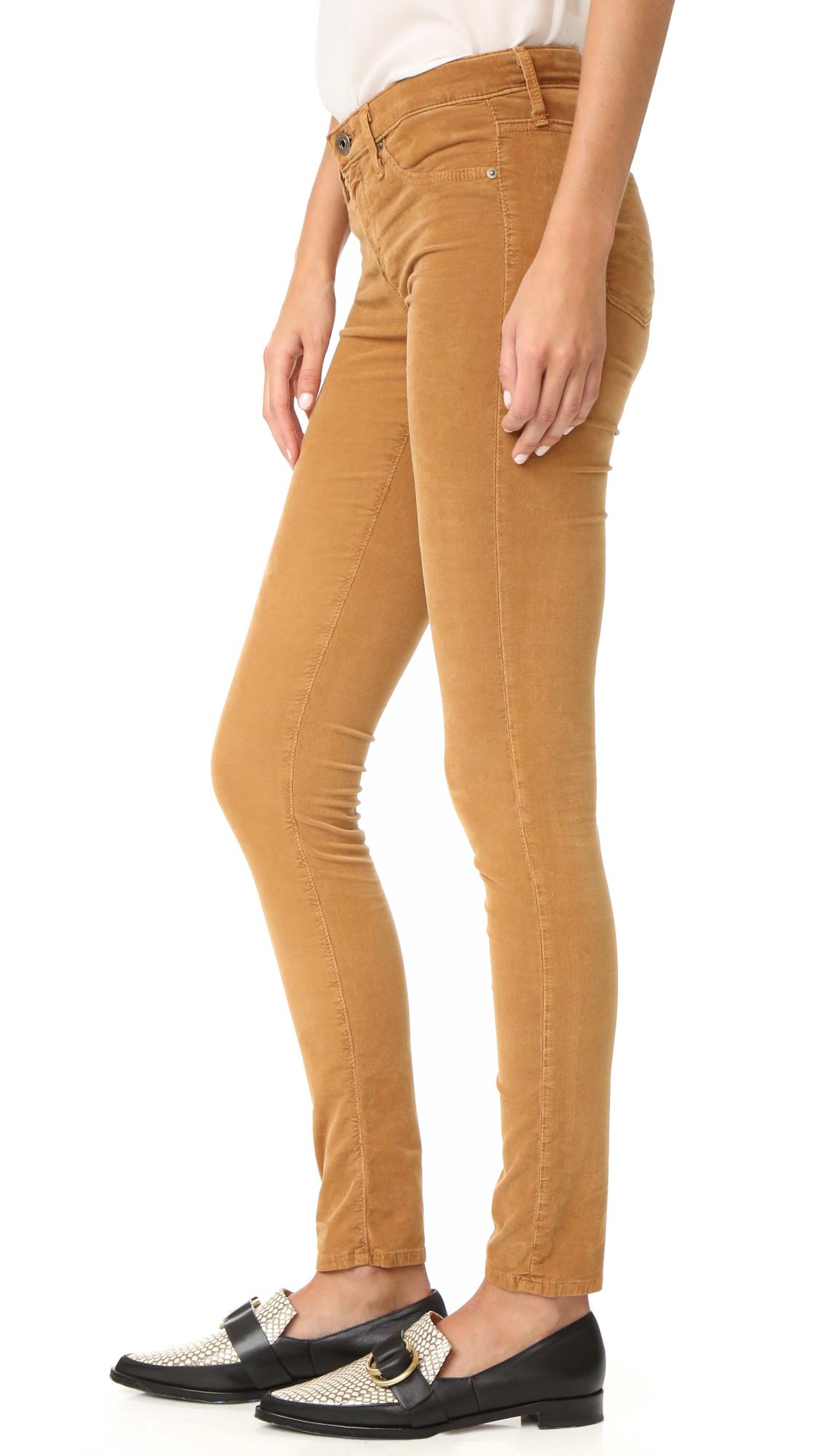 Ag jeans The Super Skinny Legging Jeans in Black