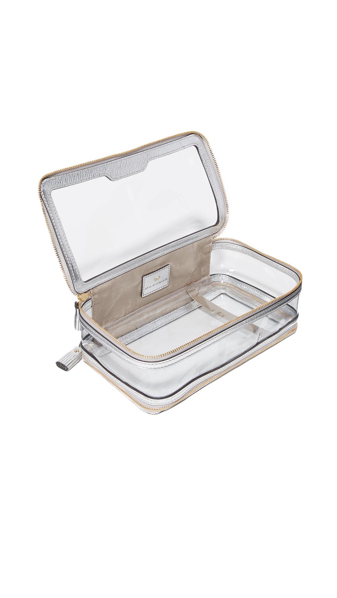 Anya Hindmarch Clear Travel Bag