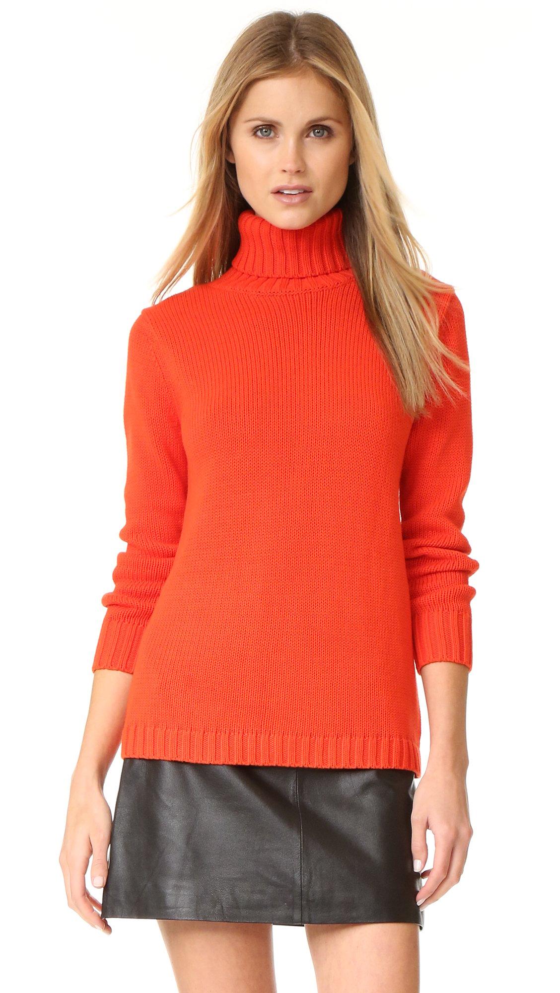 Lyst - 525 america Turtleneck Sweater in Black
